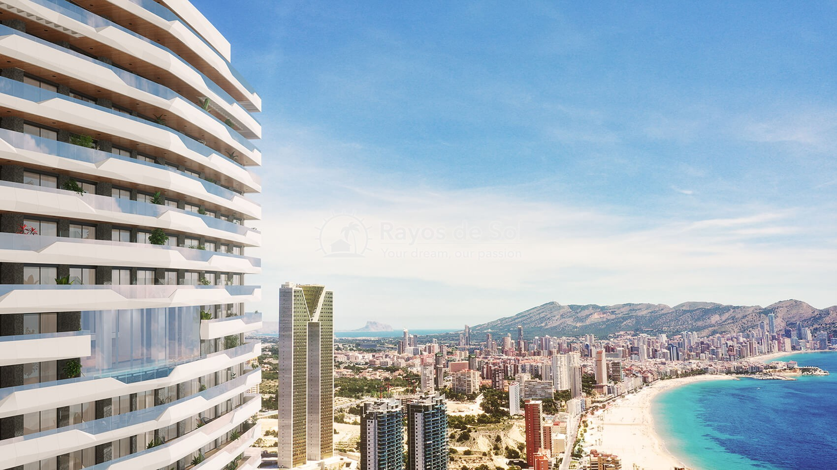 Penthouse with views  in Benidorm, Costa Blanca (Benidormb 33e) - 8