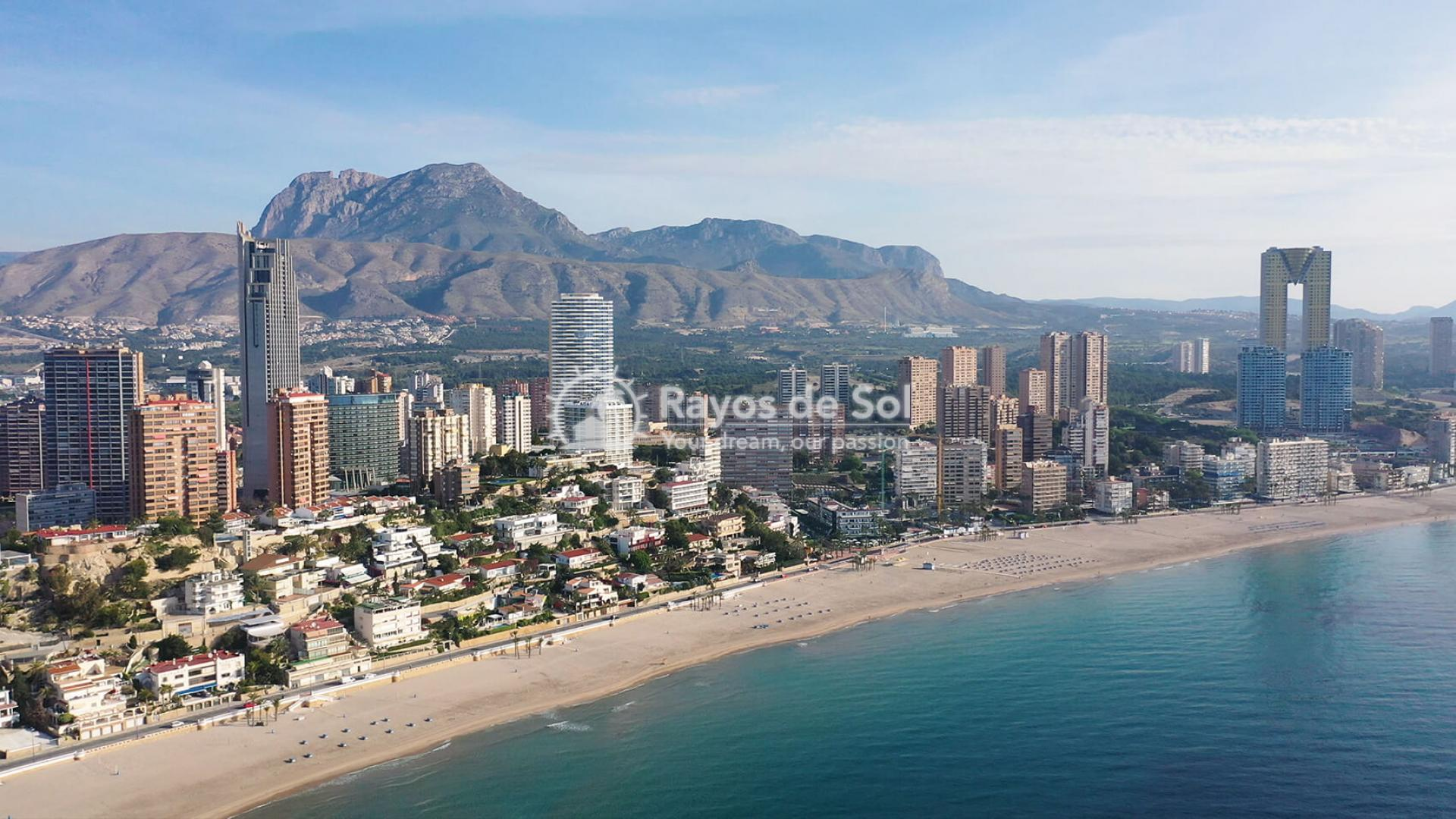 Penthouse with views  in Benidorm, Costa Blanca (Benidormb 33e) - 1