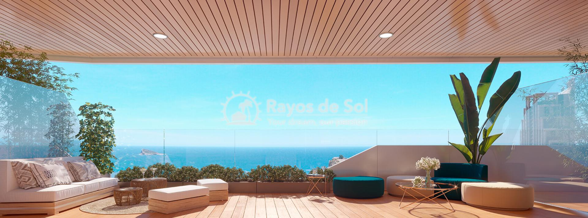 Penthouse with views  in Benidorm, Costa Blanca (Benidormb 33e) - 4