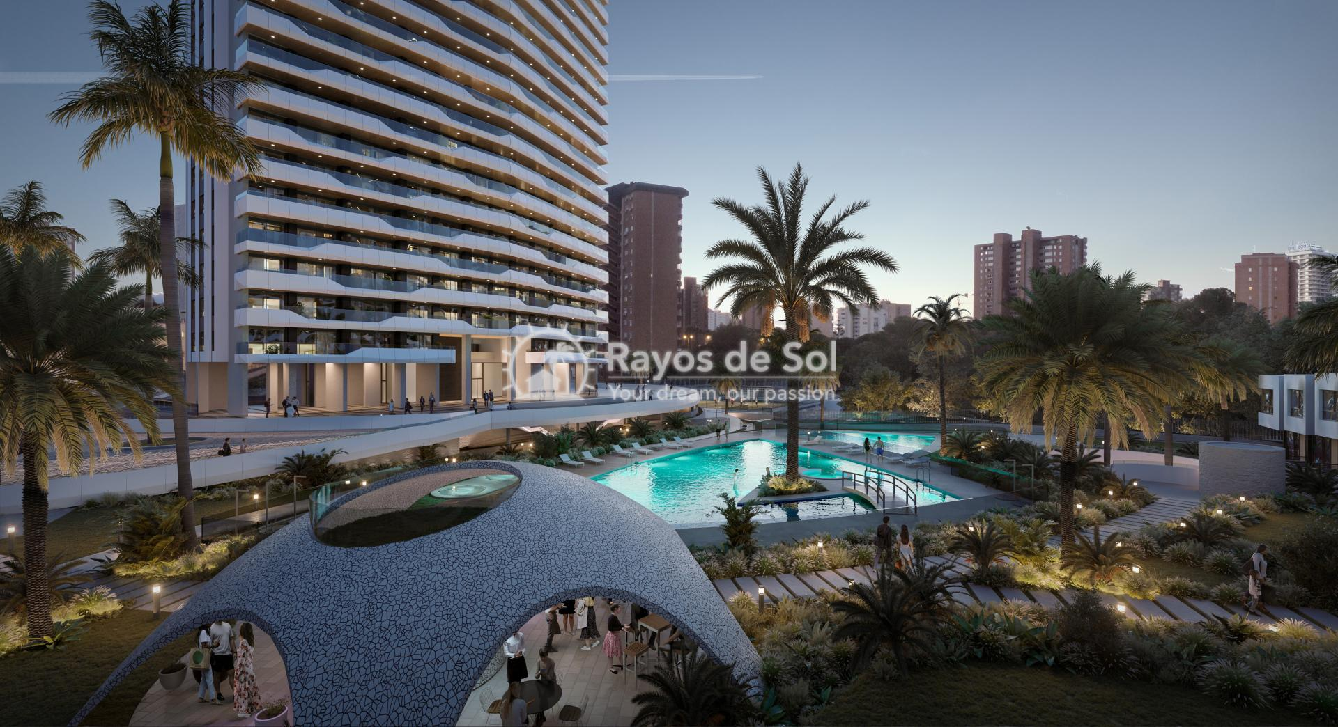 Penthouse with views  in Benidorm, Costa Blanca (Benidormb 33e) - 7