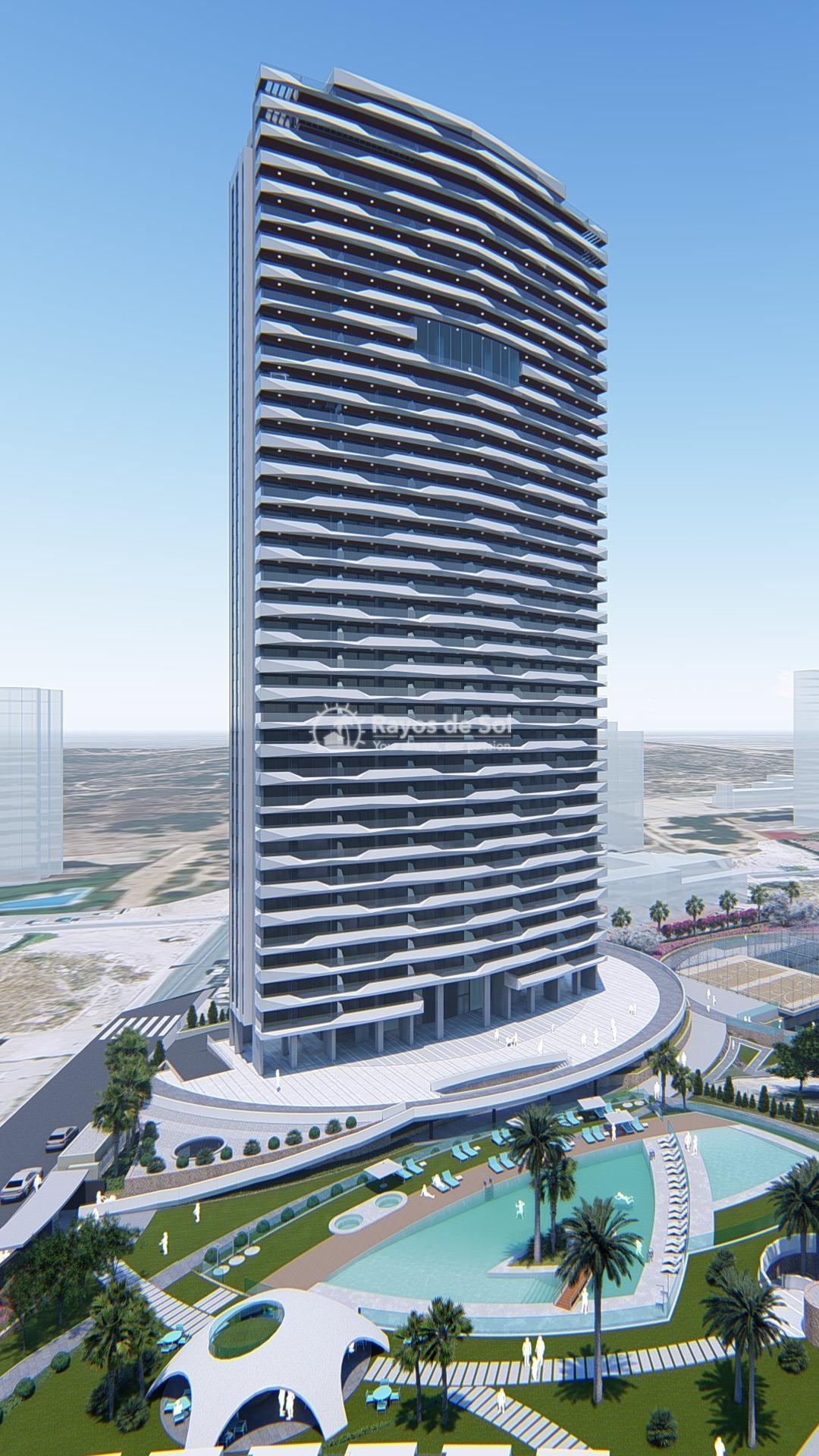 Penthouse 35th floor  in Benidorm, Costa Blanca (Benidormb 35F) - 32