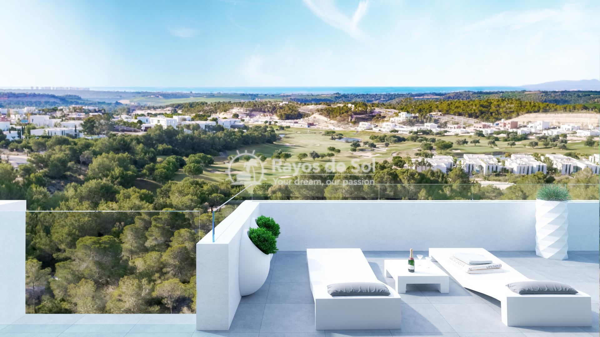 Apartment  in Las Colinas, Orihuela Costa, Costa Blanca (limoneroap-ph-3d) - 1