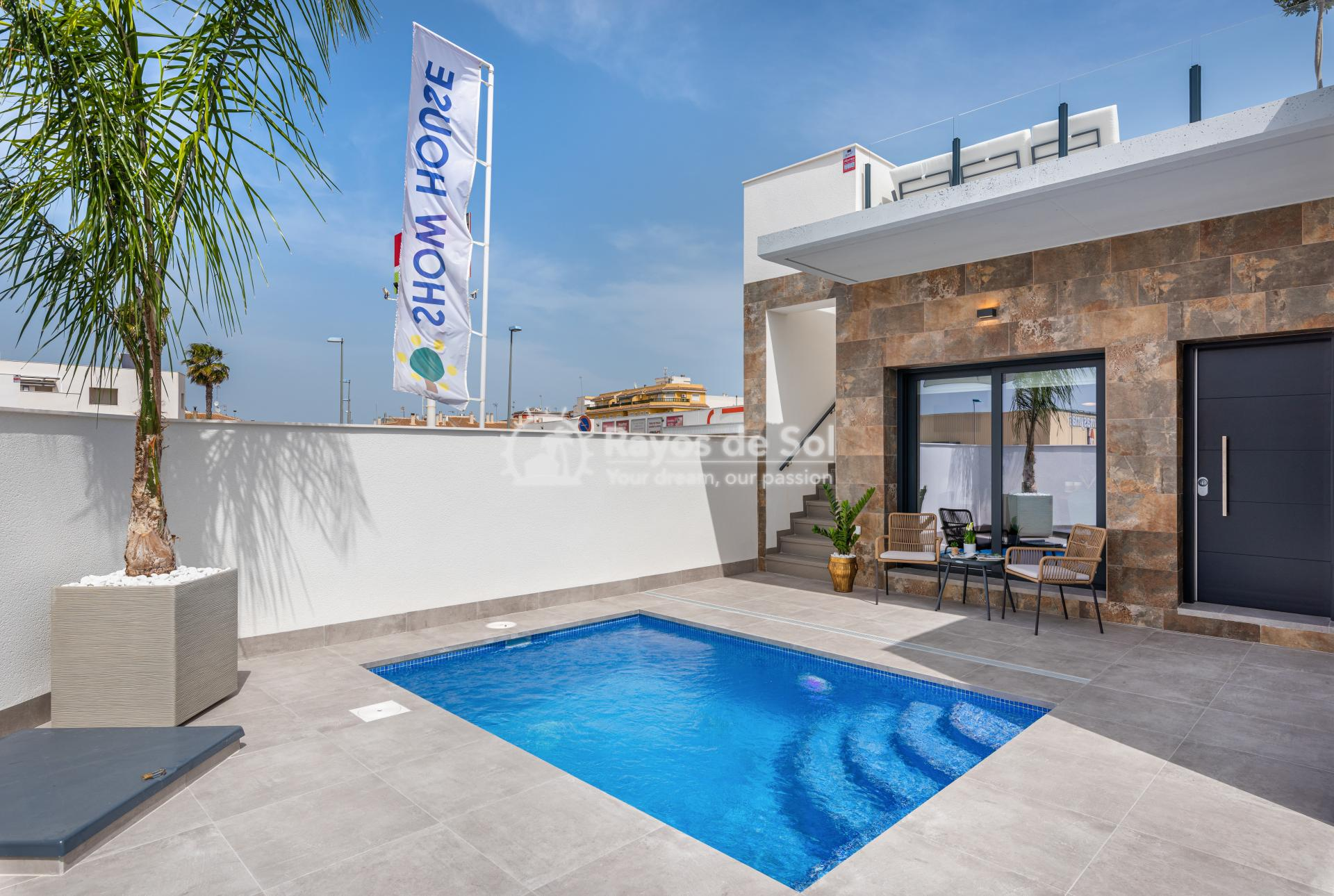 Semi-detached villa  in Formentera del Segura, Costa Blanca (Riomar) - 17