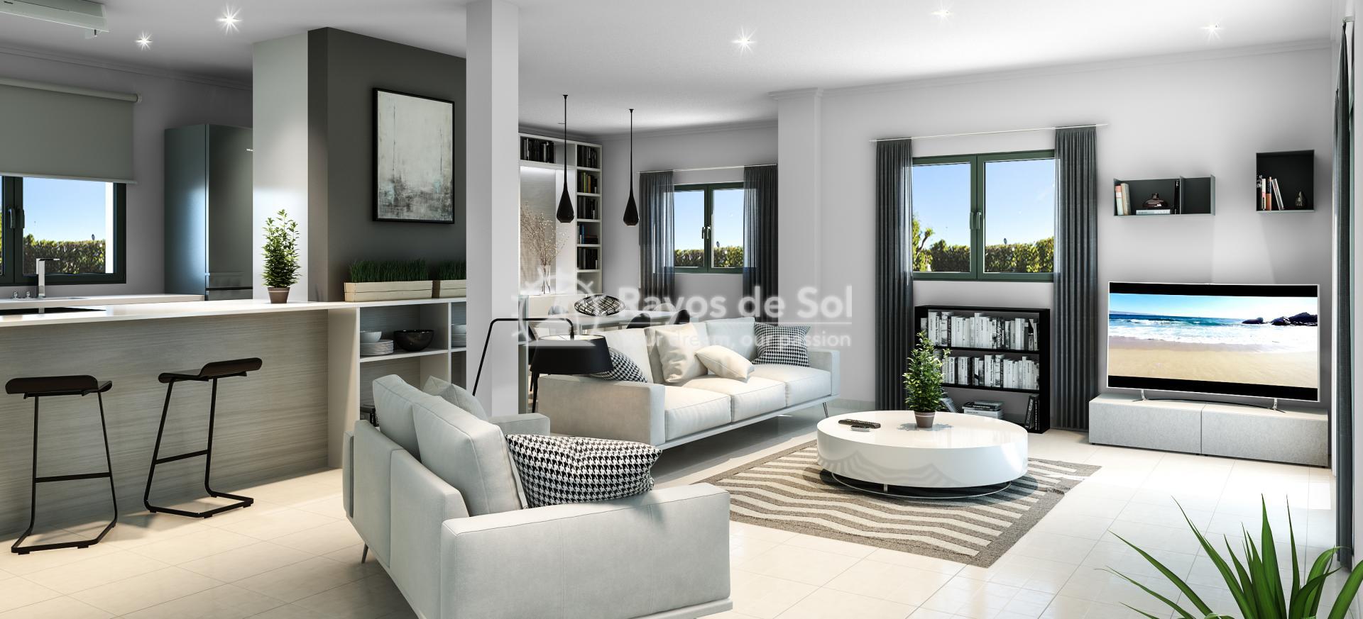 Semi-detached villa  in La Marina, Costa Blanca (npinet15-4d-sd) - 2