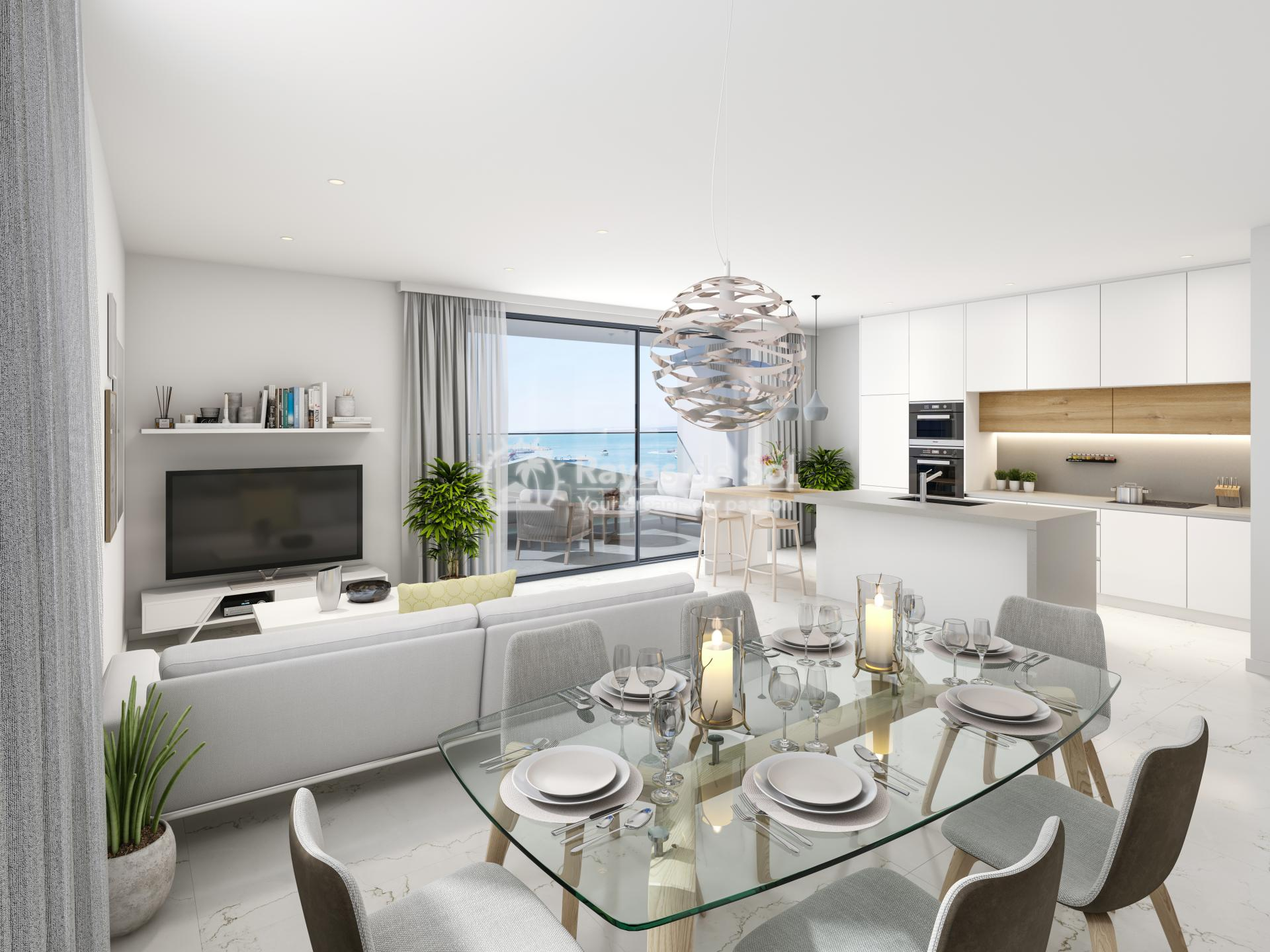 Apartment with seaviews  in Santa Pola, Costa Blanca (Velas-3d-ap) - 2