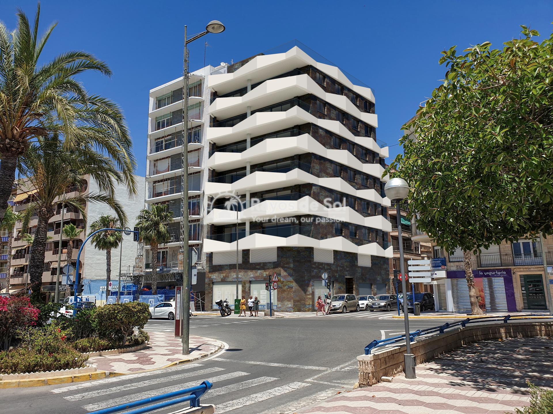 Apartment with seaviews  in Santa Pola, Costa Blanca (Velas-3d-ap) - 8
