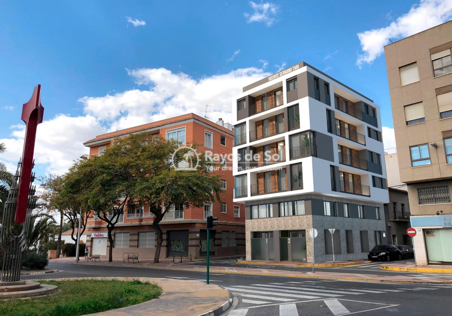 Apartment  in Elche, Costa Blanca (Vincente-Serrano-1d) - 1