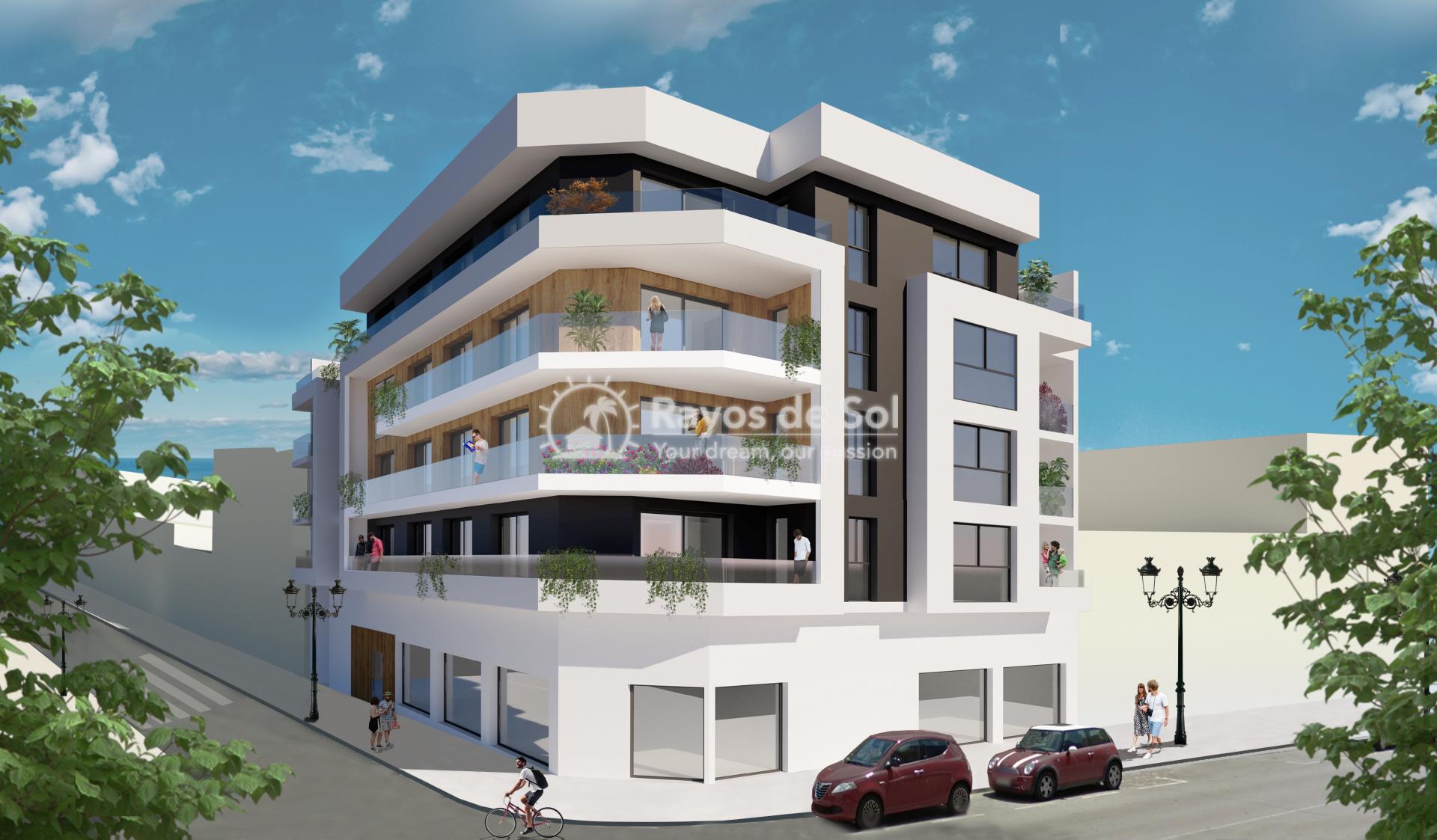 Apartment  in Guardamar del Segura, Costa Blanca (Roqueta-3d) - 1