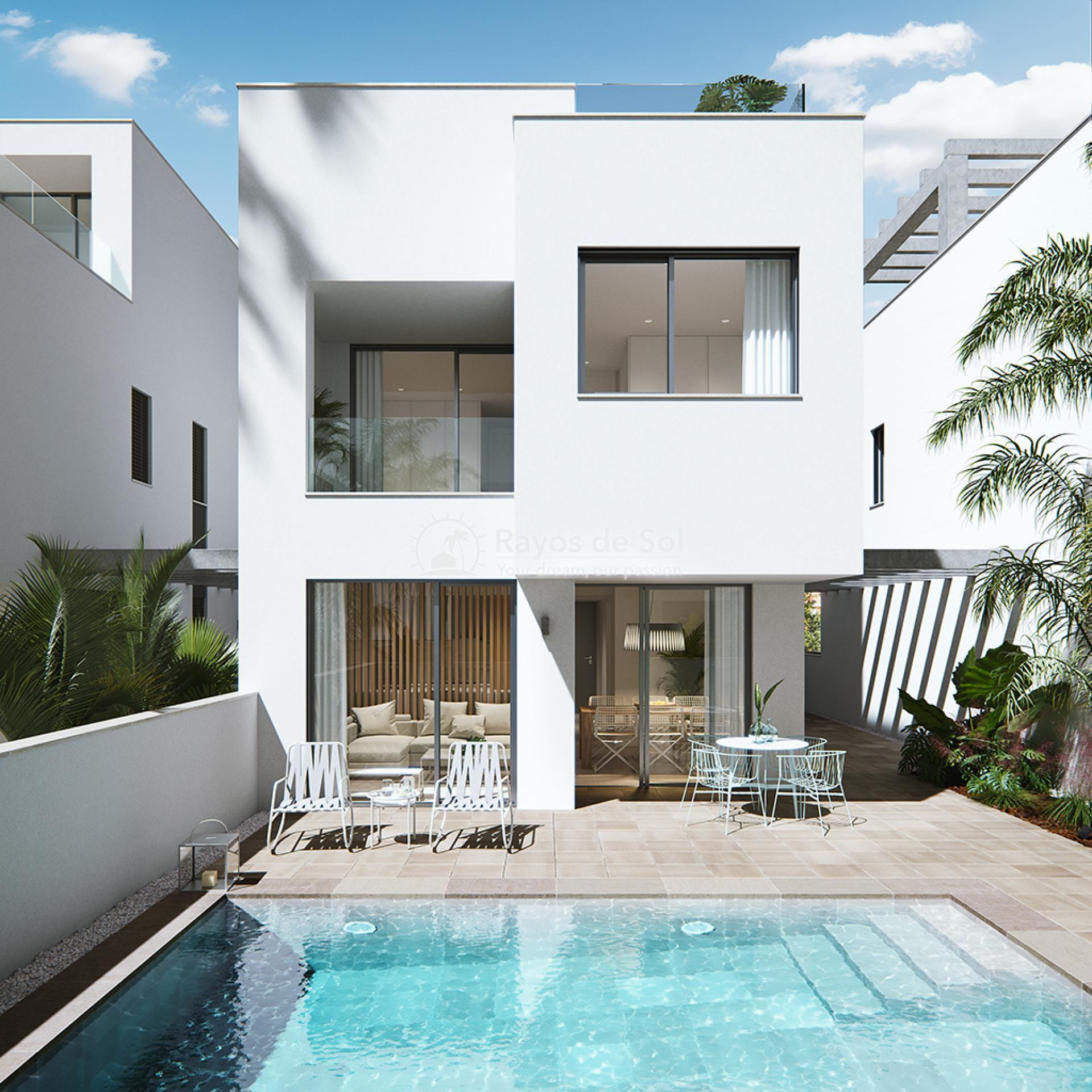 Luxury beachfront villas  in Torre de la Horadada, Pilar de la Horadada, Costa Blanca (Las-Higuericas-v12) - 4