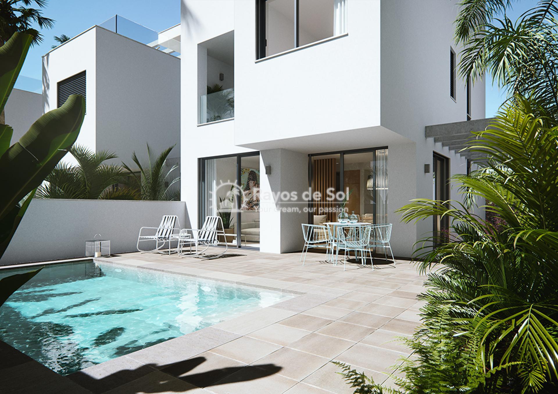 Luxury beachfront villas  in Torre de la Horadada, Pilar de la Horadada, Costa Blanca (Las-Higuericas-v12) - 3