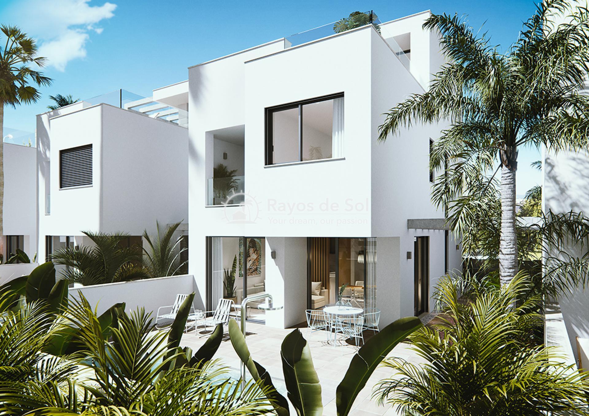 Luxury beachfront villas  in Torre de la Horadada, Pilar de la Horadada, Costa Blanca (Las-Higuericas-v12) - 2