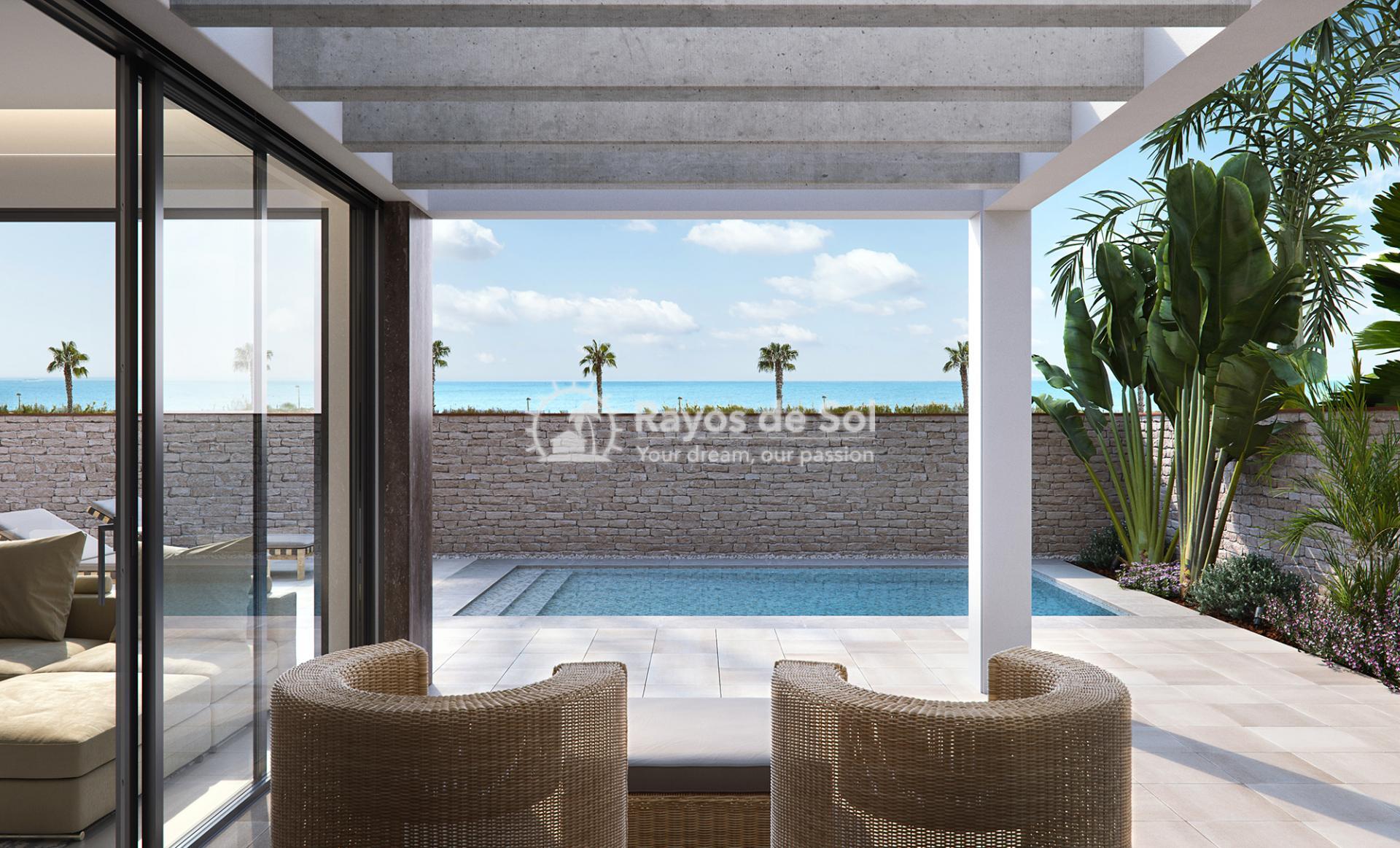 Luxury beachfront villas  in Torre de la Horadada, Pilar de la Horadada, Costa Blanca (Las-Higuericas-V3) - 7