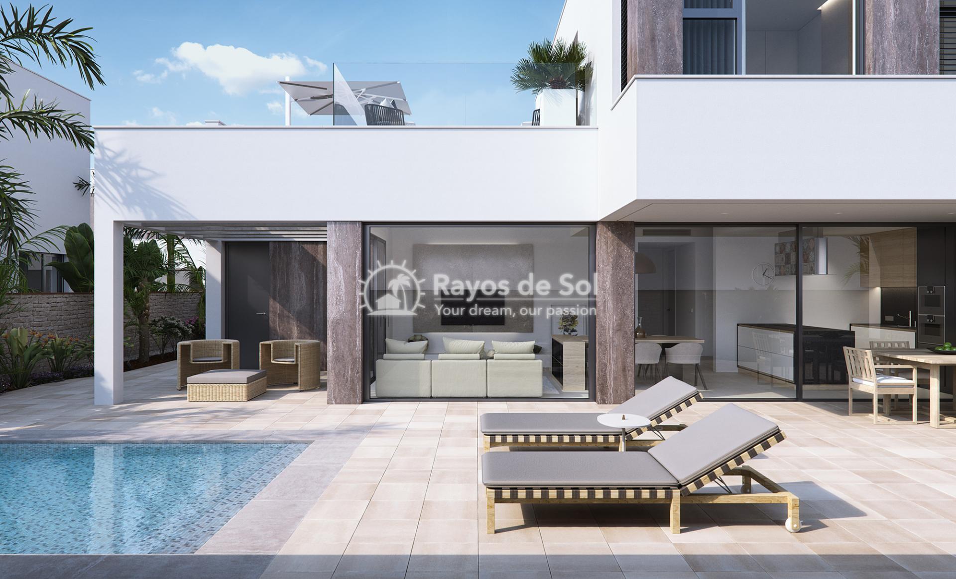 Luxury beachfront villas  in Torre de la Horadada, Pilar de la Horadada, Costa Blanca (Las-Higuericas-V3) - 19