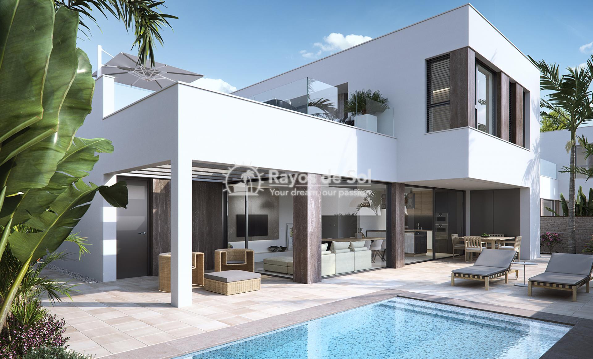 Luxury beachfront villas  in Torre de la Horadada, Pilar de la Horadada, Costa Blanca (Las-Higuericas-V3) - 21