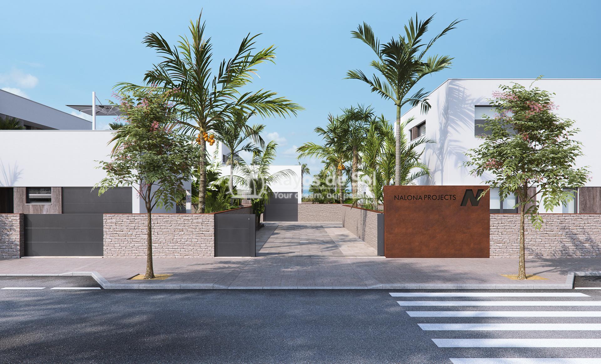 Luxury beachfront villas  in Torre de la Horadada, Pilar de la Horadada, Costa Blanca (Las-Higuericas-V3) - 27