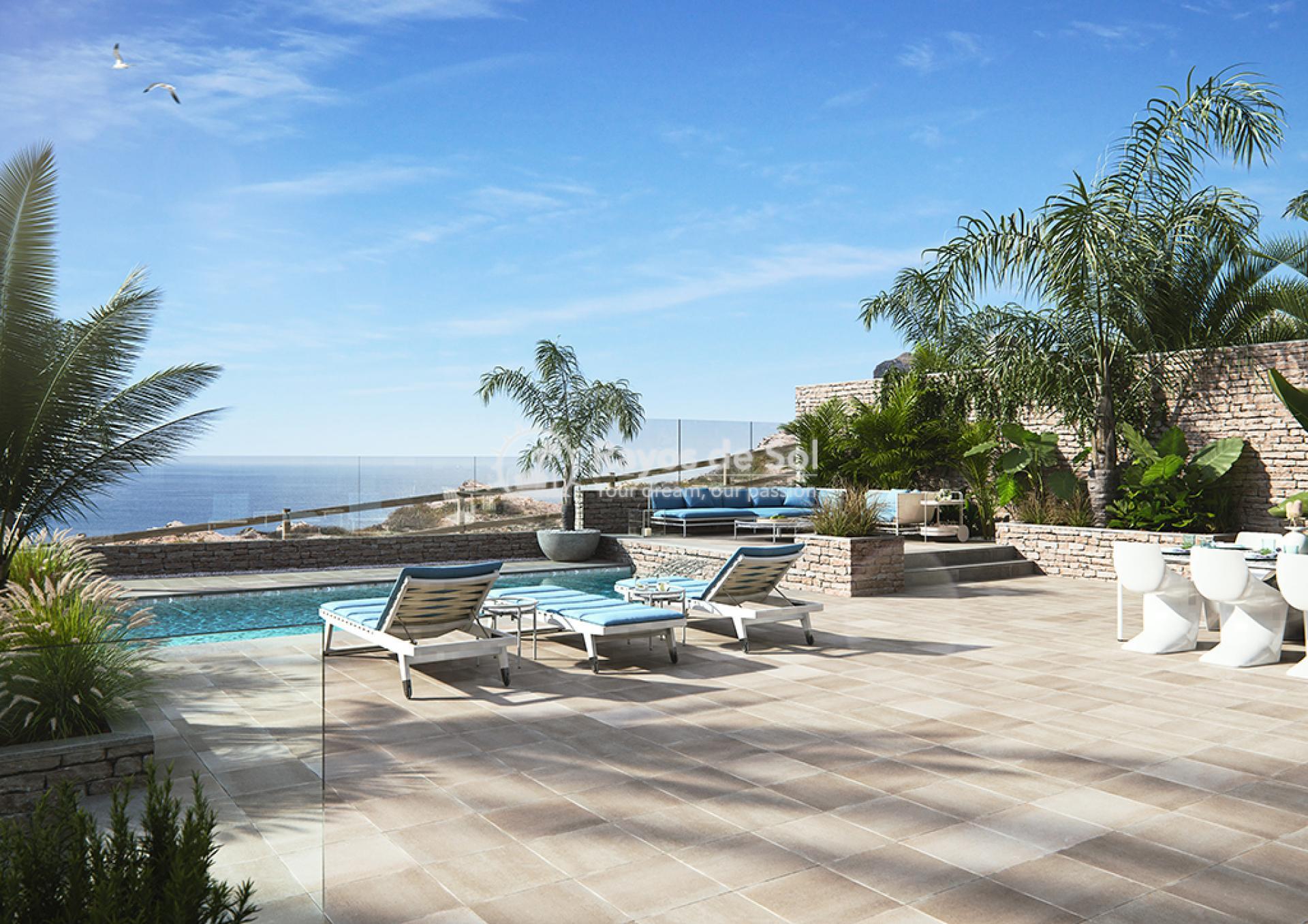 Villa with stunning seaviews  in Cabo de Palos, La Manga del Mar Menor, Costa Cálida (villas-de-lujo) - 1