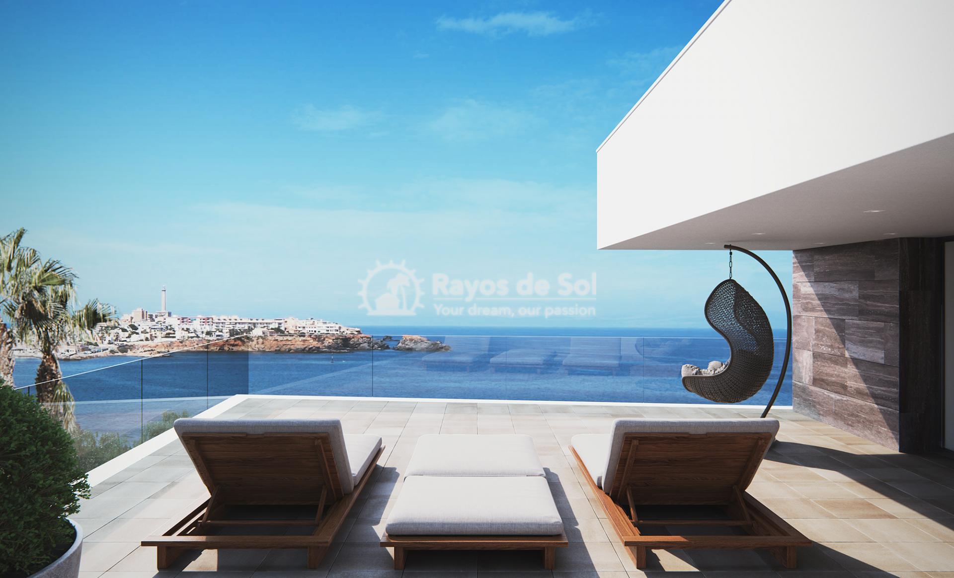 Villa with stunning seaviews  in Cabo de Palos, La Manga del Mar Menor, Costa Cálida (Villas-las-Yukas) - 21