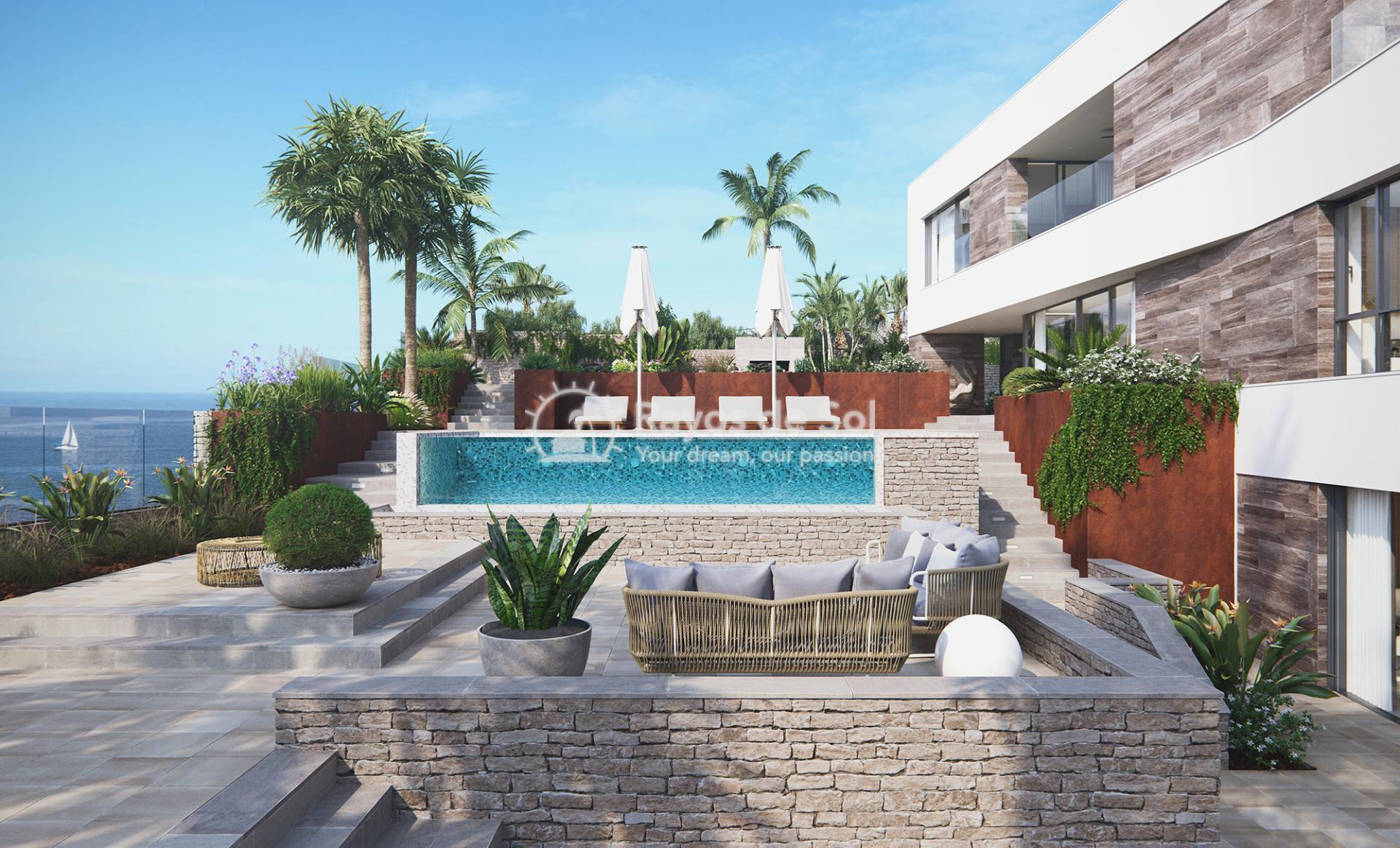 Villa with stunning seaviews  in Cabo de Palos, La Manga del Mar Menor, Costa Cálida (Villas-las-Yukas) - 26