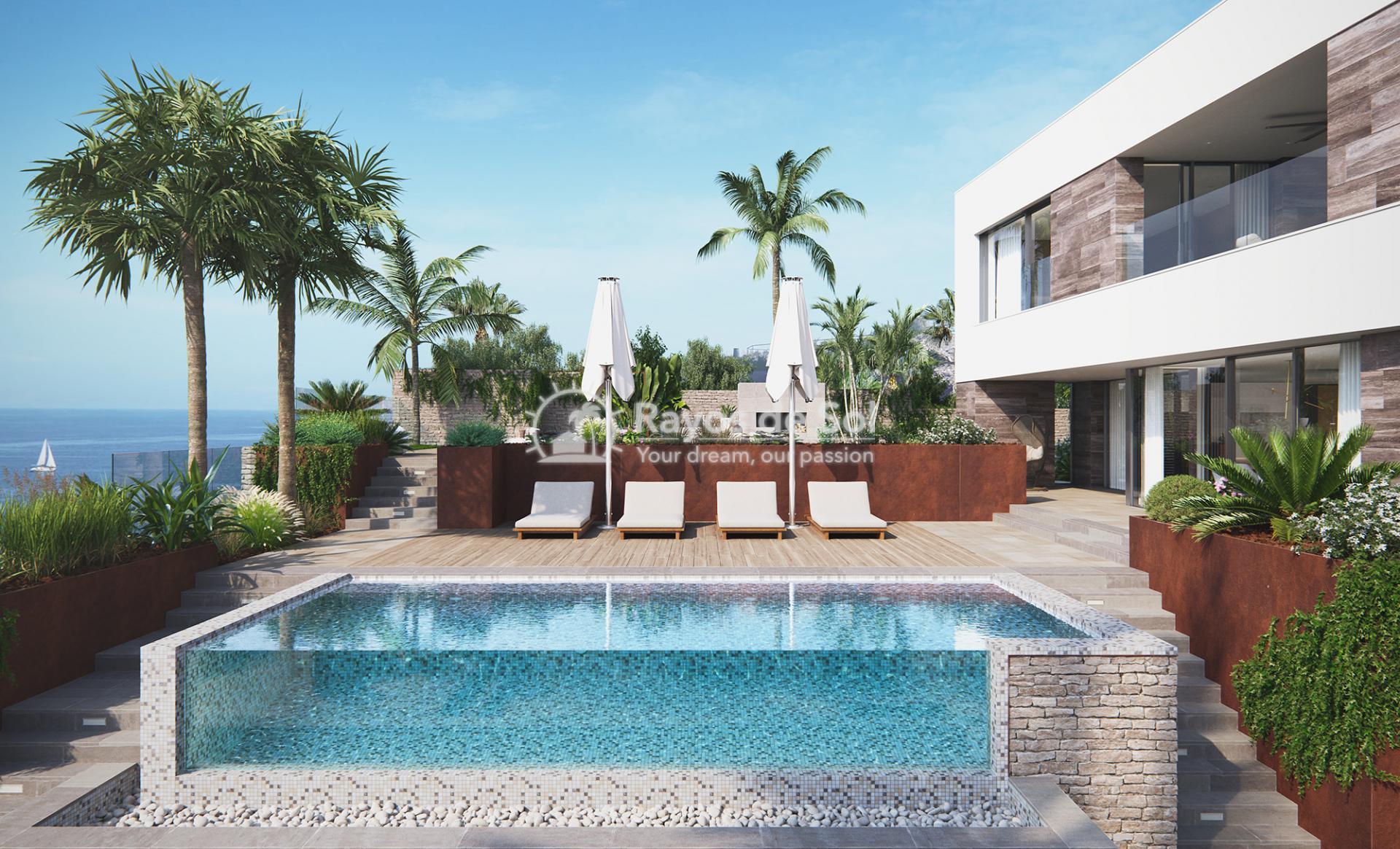Villa with stunning seaviews  in Cabo de Palos, La Manga del Mar Menor, Costa Cálida (Villas-las-Yukas) - 24