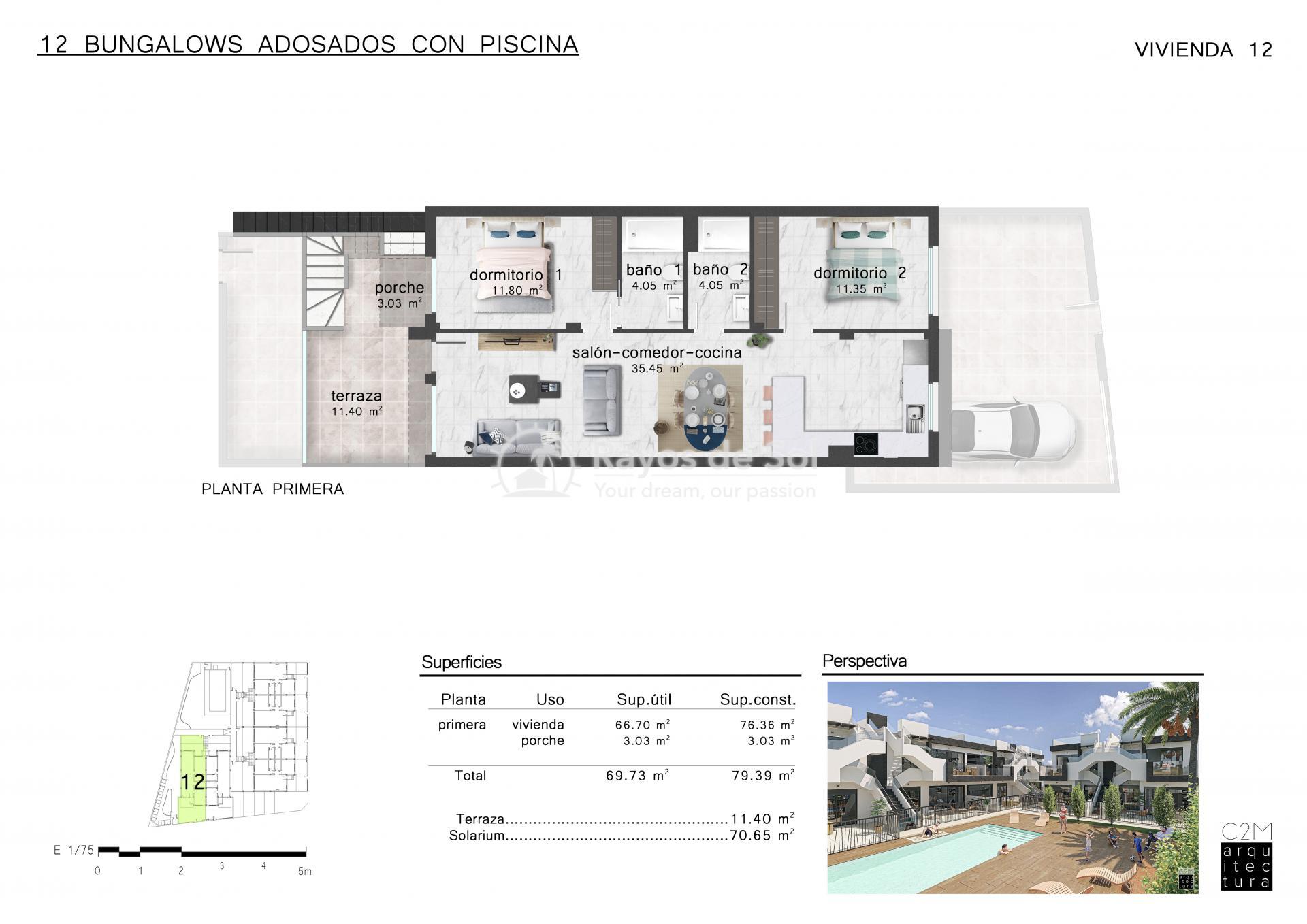 Penthouse  in San Pedro del Pinatar, Costa Cálida (Mirador SP2 PH) - 7