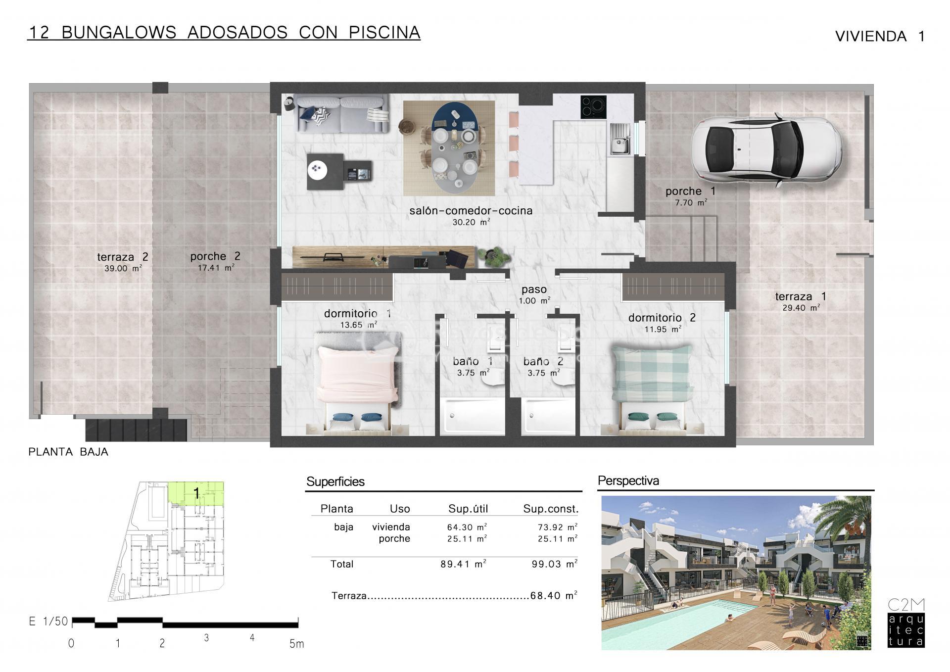 Apartment  in San Pedro del Pinatar, Costa Cálida (Mirador SP2 PB) - 8