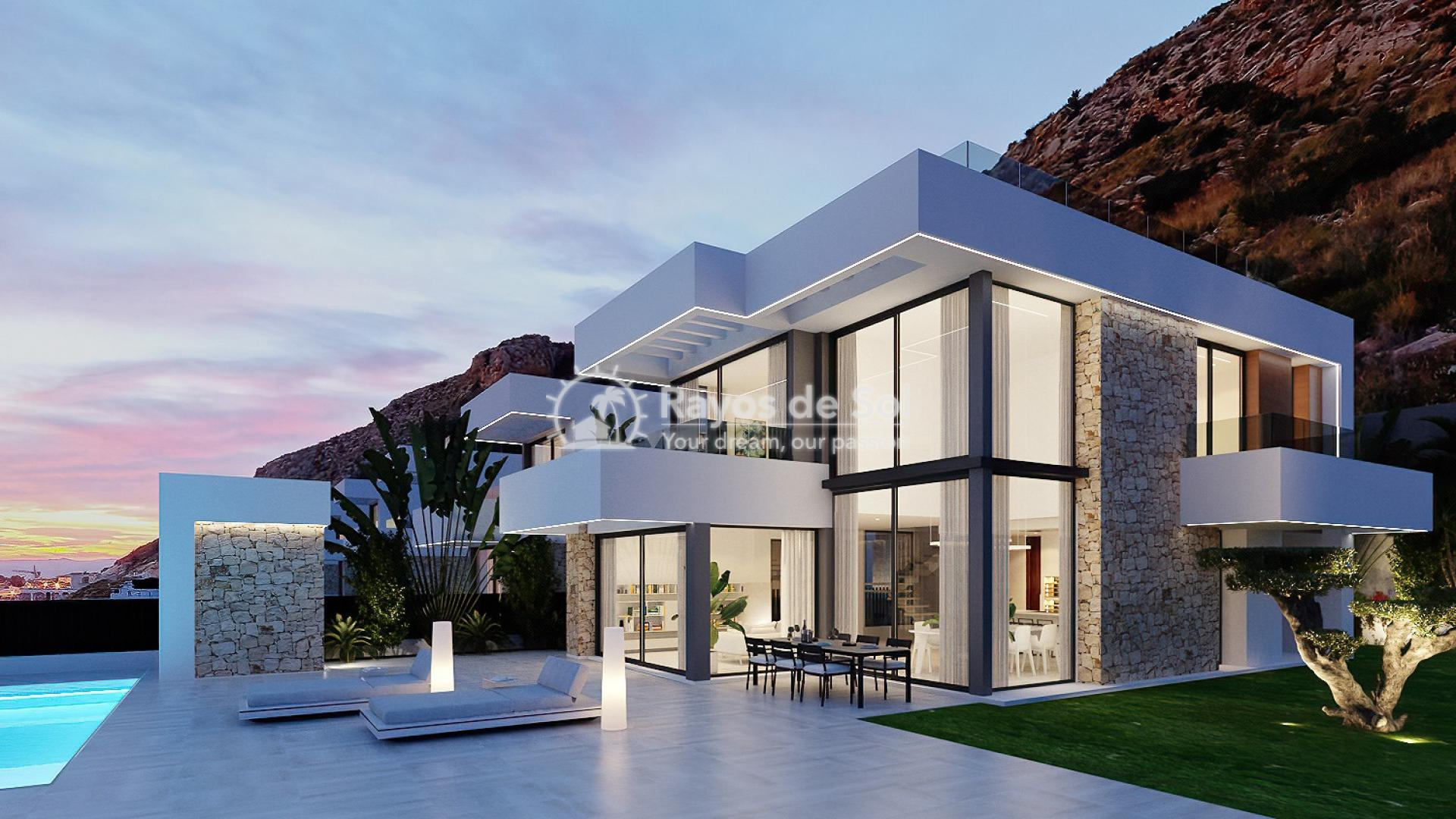 Stunning villa  in Finestrat, Costa Blanca (Seaview 3-12) - 1