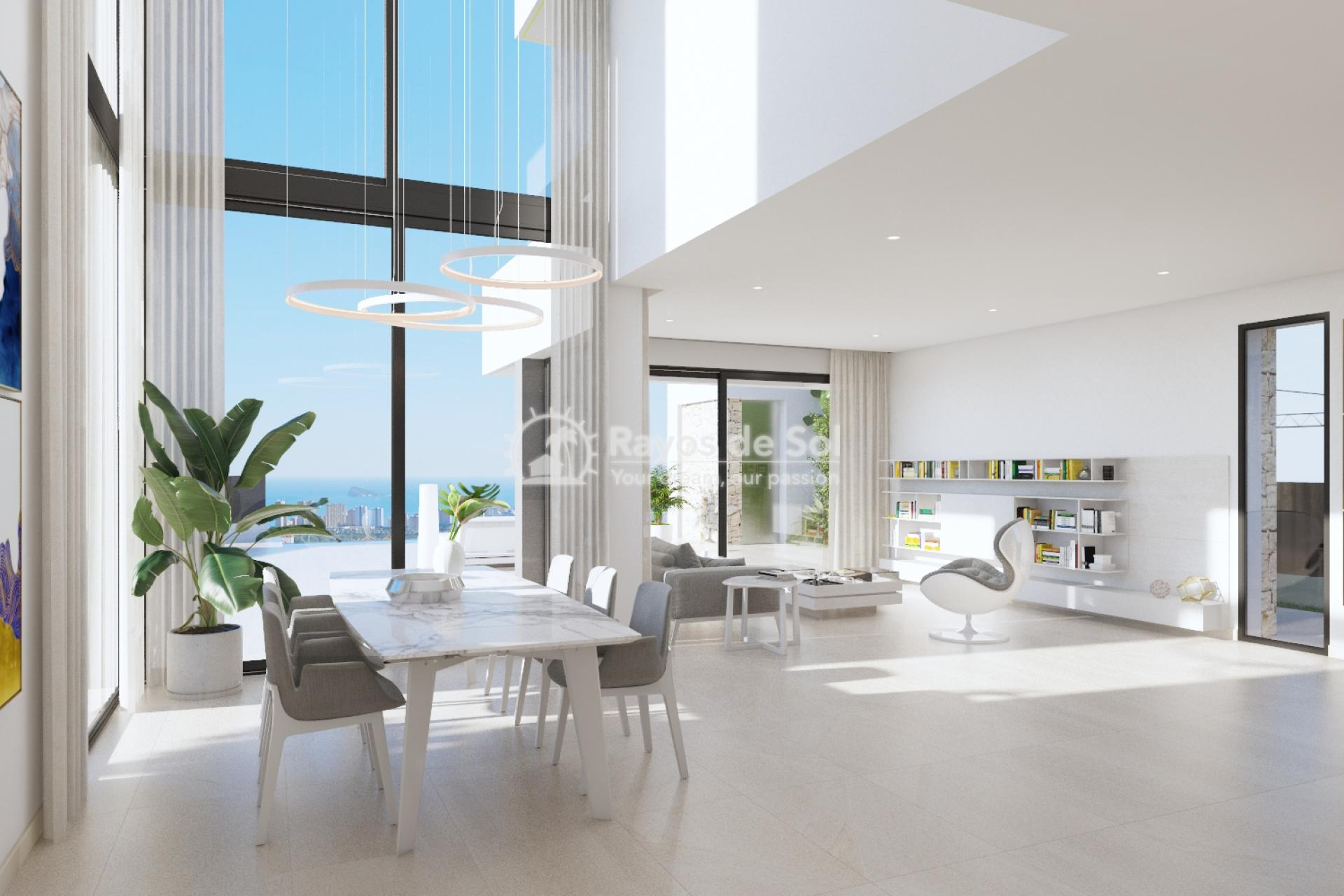 Stunning villa  in Finestrat, Costa Blanca (Seaview 3-12) - 3