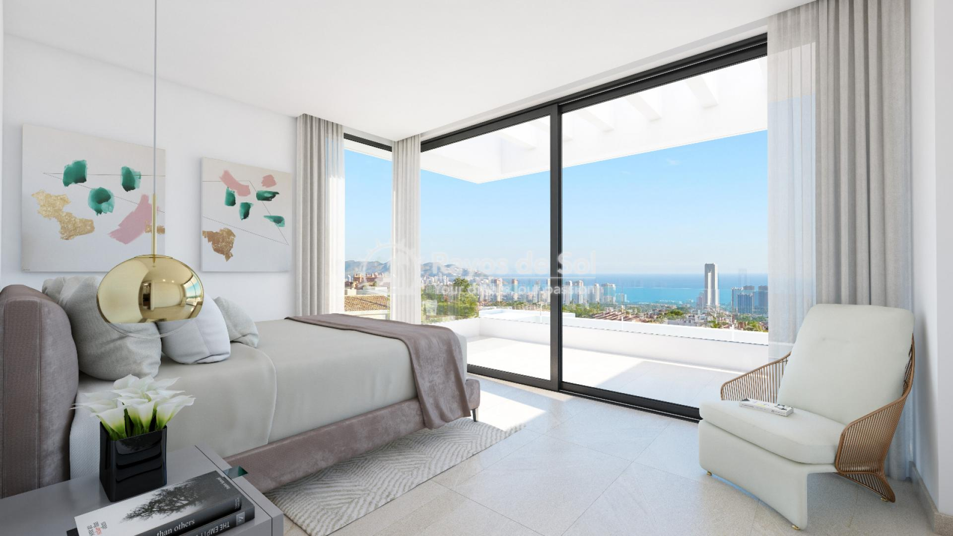 Stunning villa  in Finestrat, Costa Blanca (Seaview 3-12) - 5