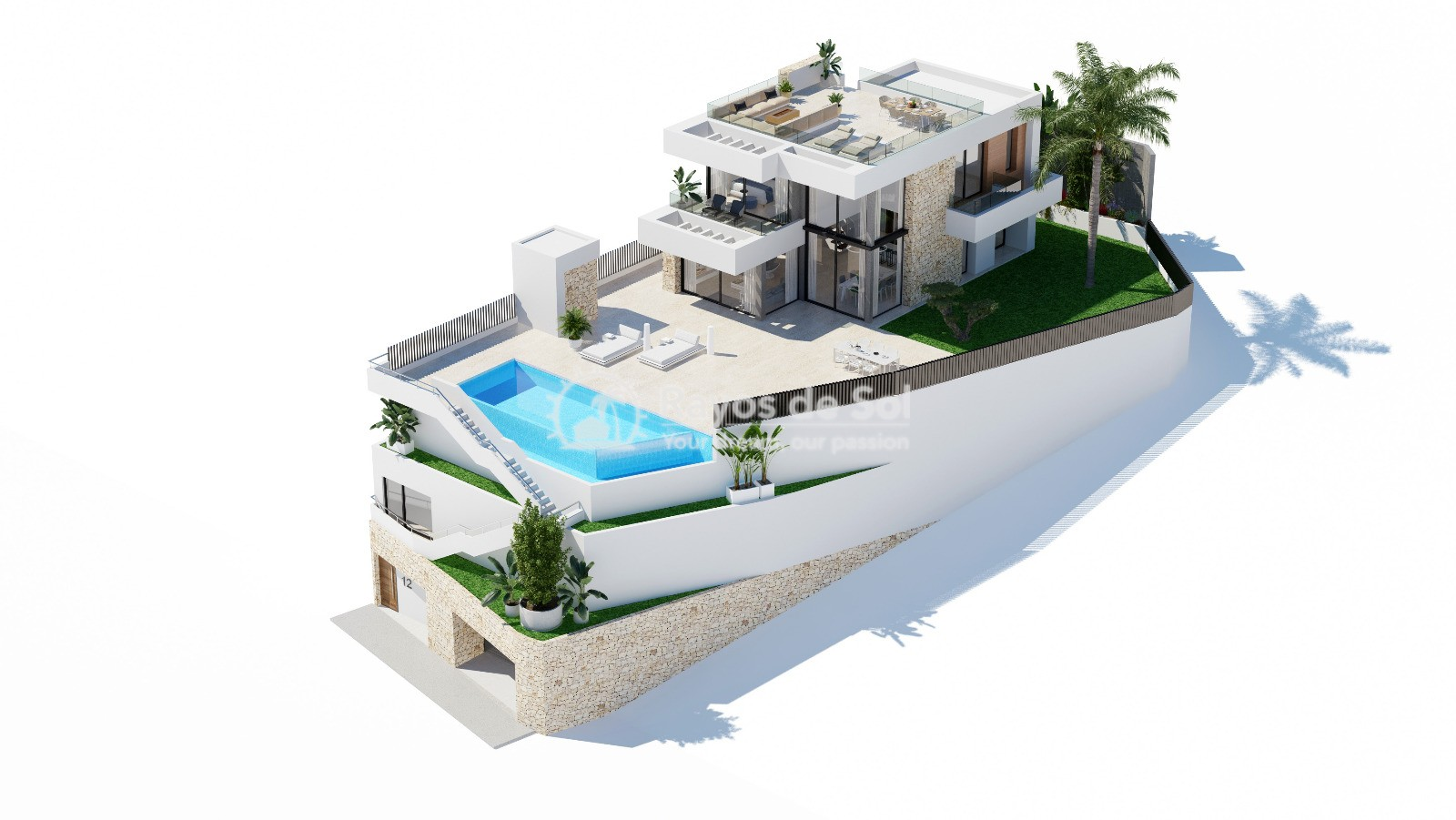 Stunning villa  in Finestrat, Costa Blanca (Seaview 3-12) - 17