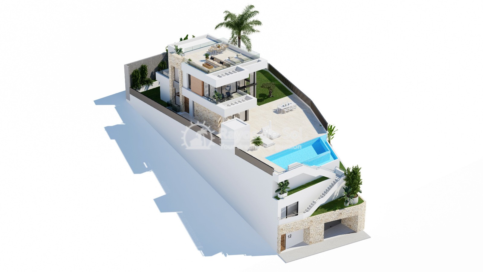Stunning villa  in Finestrat, Costa Blanca (Seaview 3-12) - 18