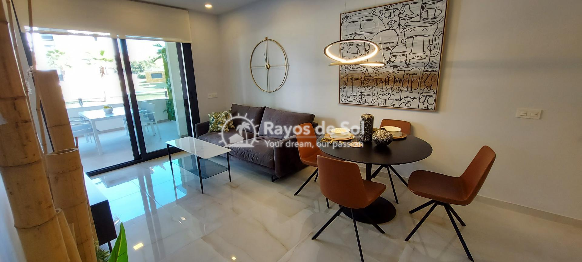 Apartment ground floor  in Orihuela Costa, Costa Blanca (amanecer6-gf-3d) - 3