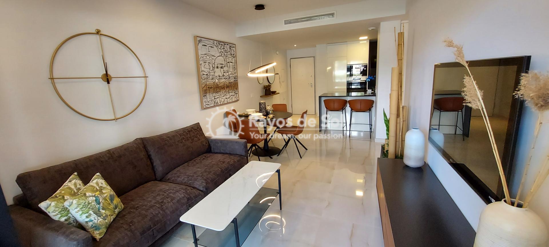 Apartment ground floor  in Orihuela Costa, Costa Blanca (amanecer6-gf-3d) - 2