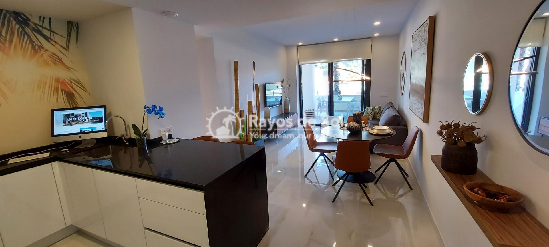 Apartment ground floor  in Orihuela Costa, Costa Blanca (amanecer6-gf-3d) - 4