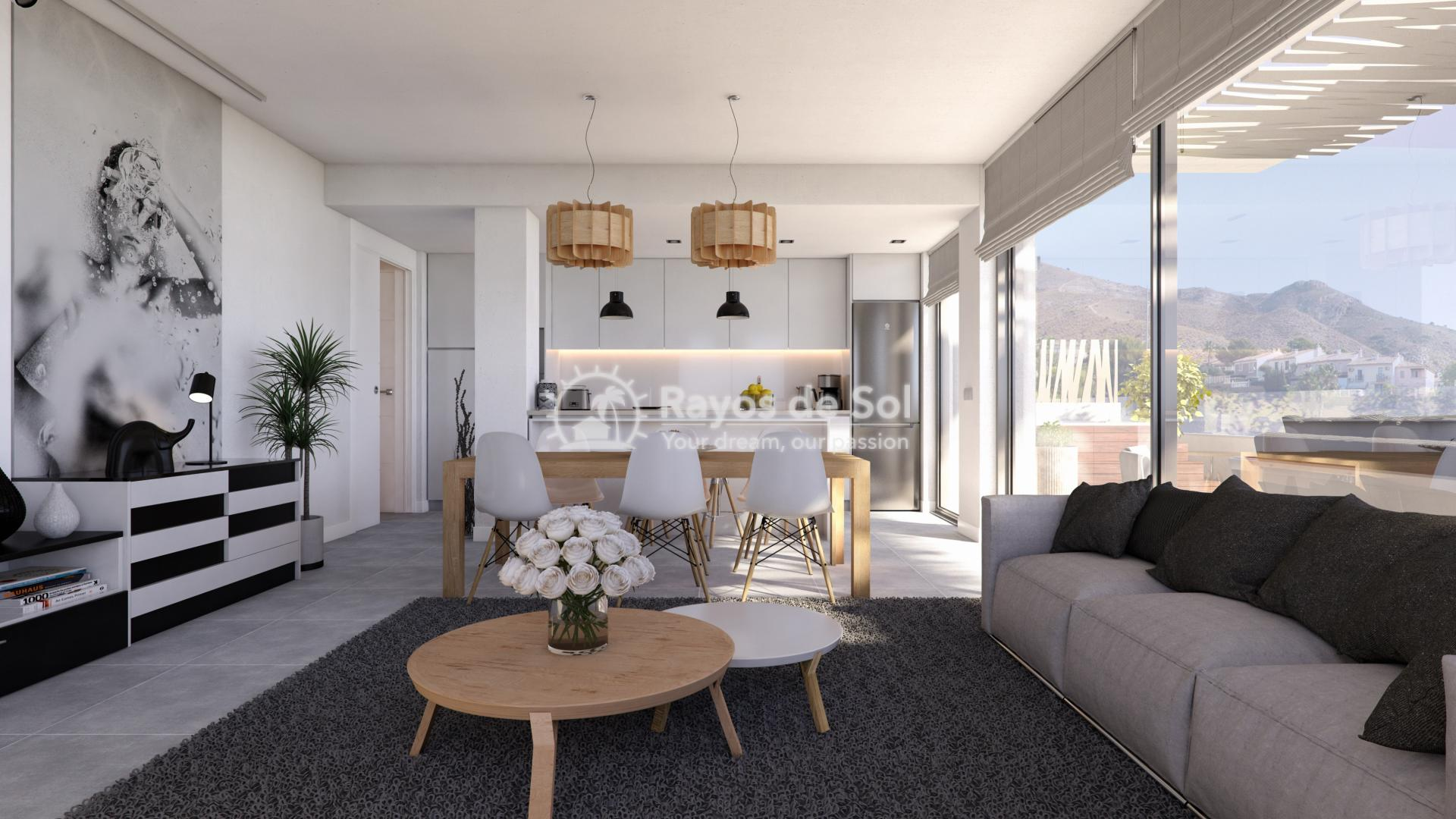 Stunning apartment  in Finestrat, Costa Blanca (Fiursea2-2) - 2