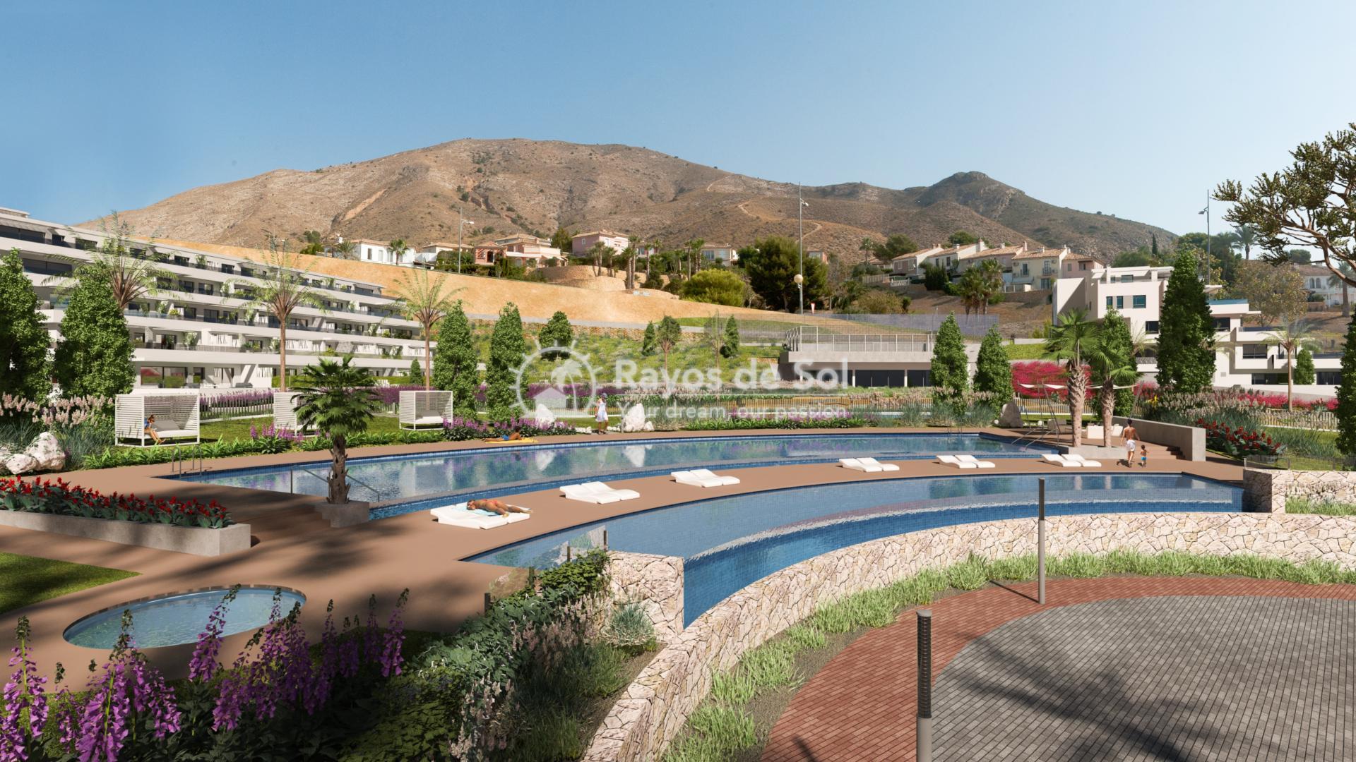 Stunning apartment  in Finestrat, Costa Blanca (FIURSEA3-2) - 1