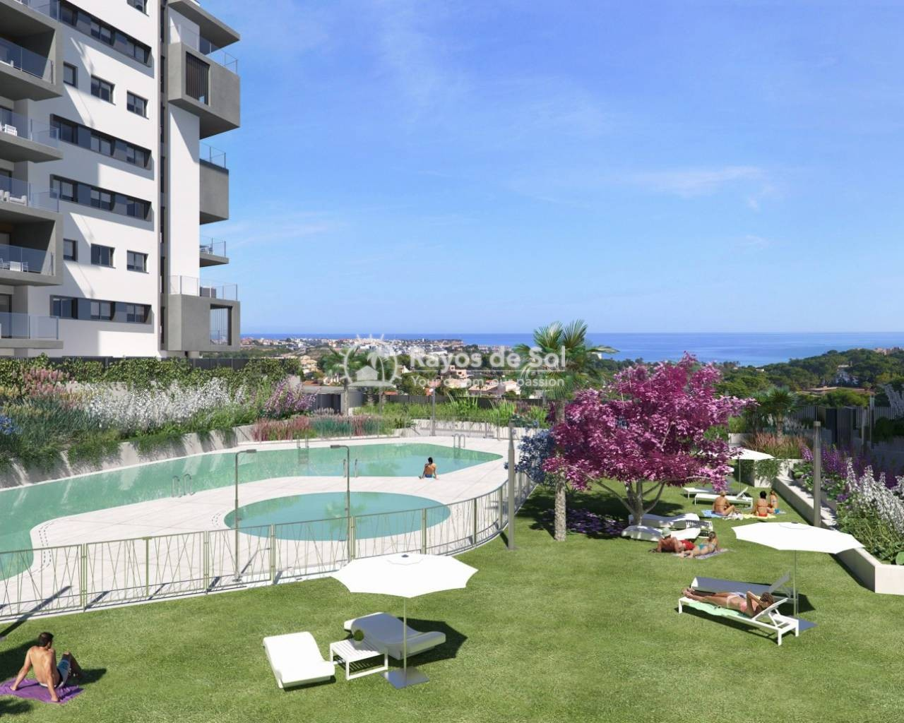 Luxury apartment ground floor  in Campoamor, Orihuela Costa, Costa Blanca (CAMURSEA3-2B) - 1