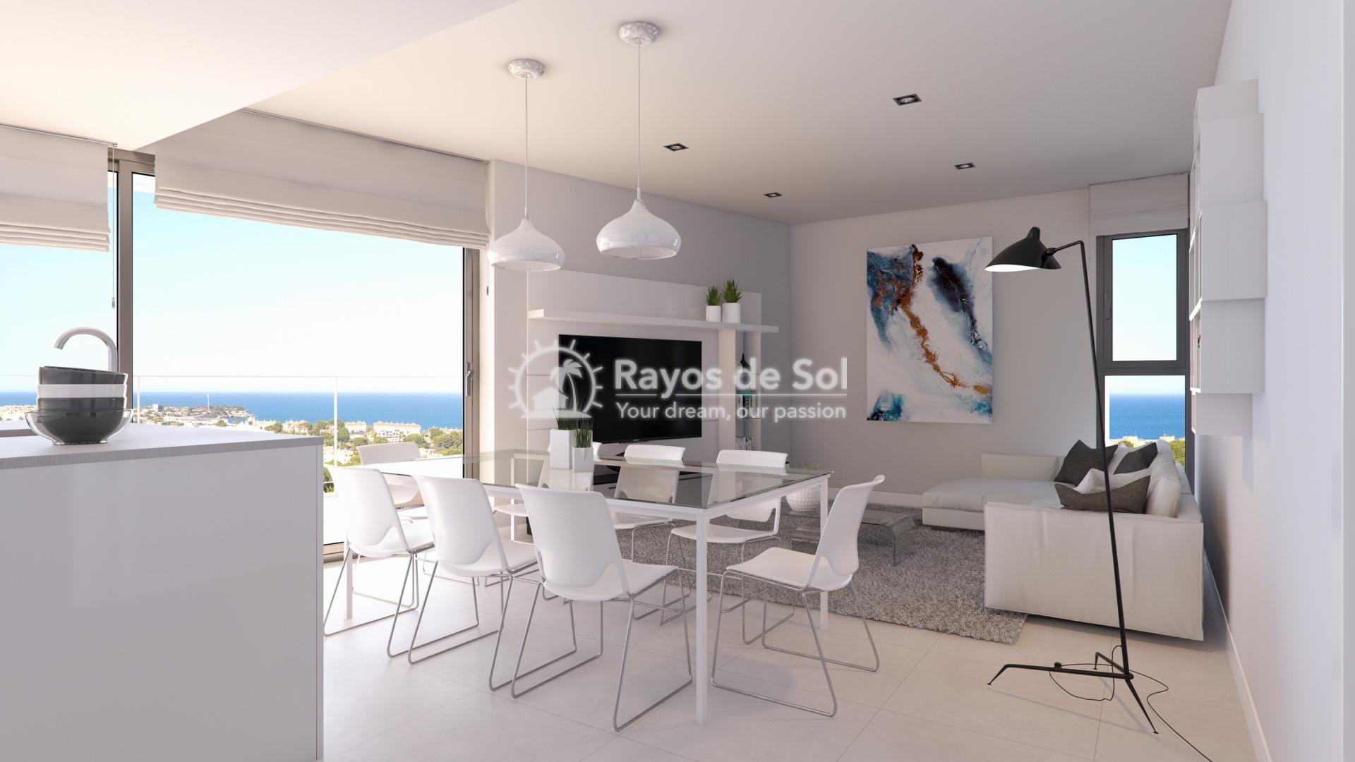 Penthouse with seaviews  in Campoamor, Orihuela Costa, Costa Blanca (CAMURSEA2-2P) - 3