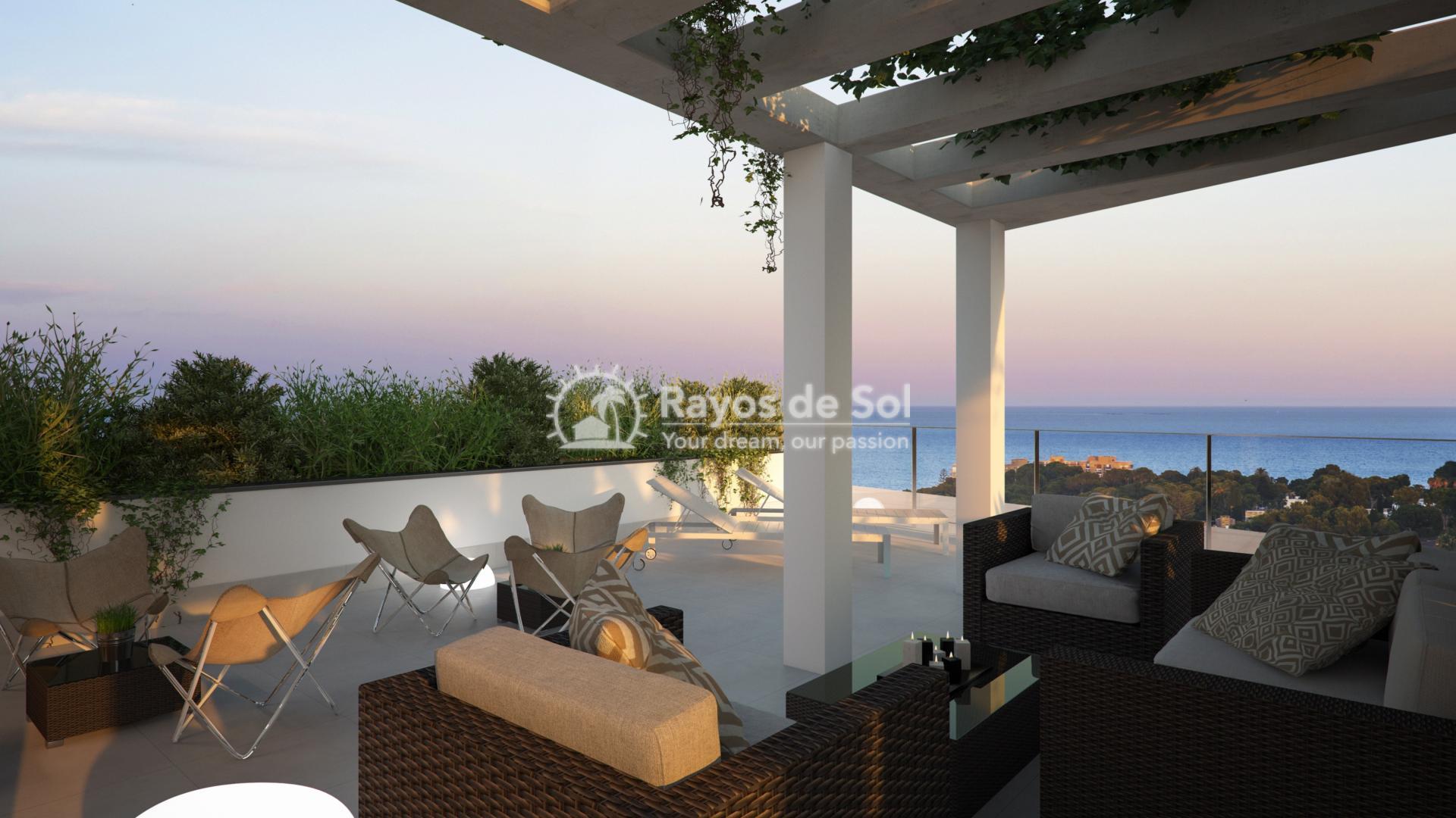 Penthouse with seaviews  in Campoamor, Orihuela Costa, Costa Blanca (CAMURSEA2-2P) - 1