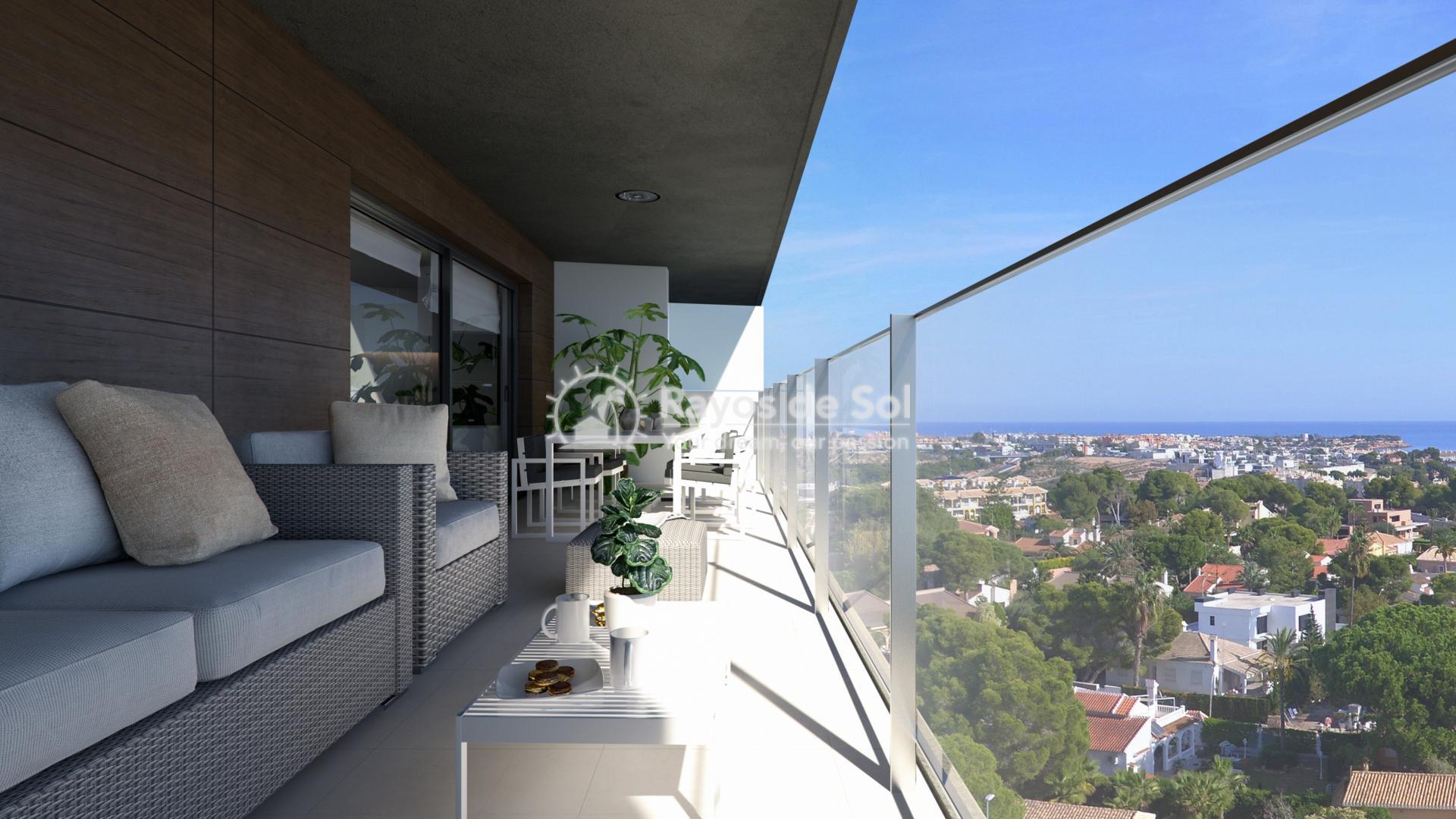 Penthouse with seaviews  in Campoamor, Orihuela Costa, Costa Blanca (CAMURSEA2-2P) - 7