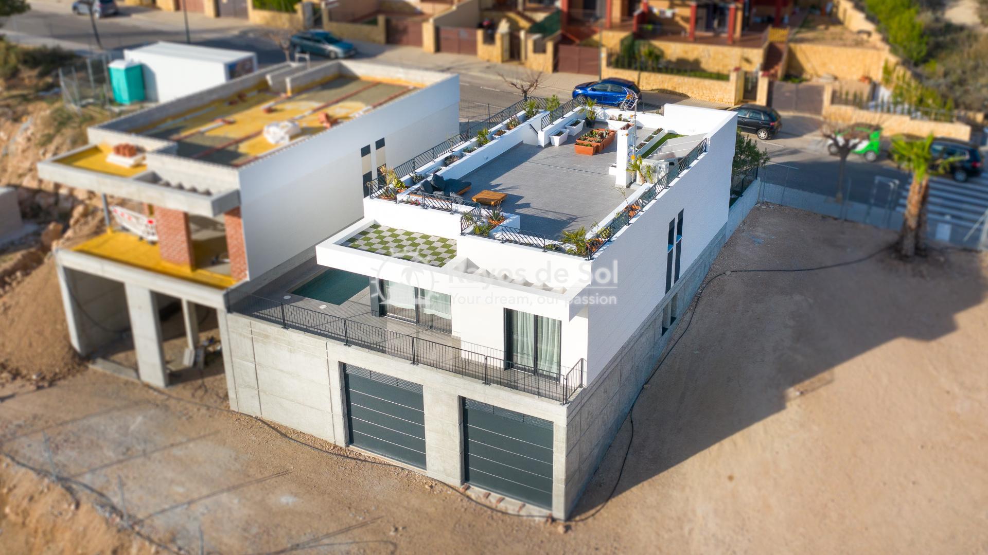 Newbuild villa  in Polop, Costa Blanca (POGRPHVI2-2) - 2