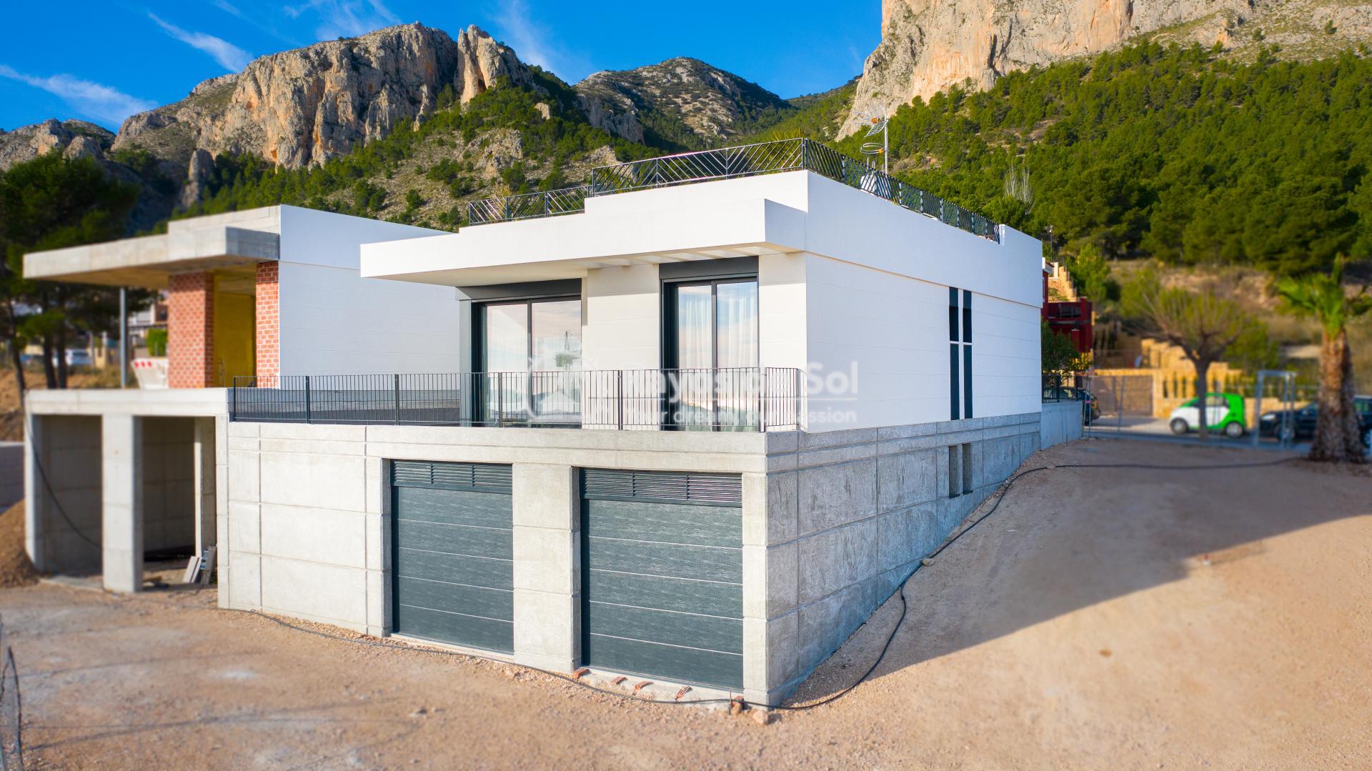 Newbuild villa  in Polop, Costa Blanca (POGRPHVI2-2) - 3