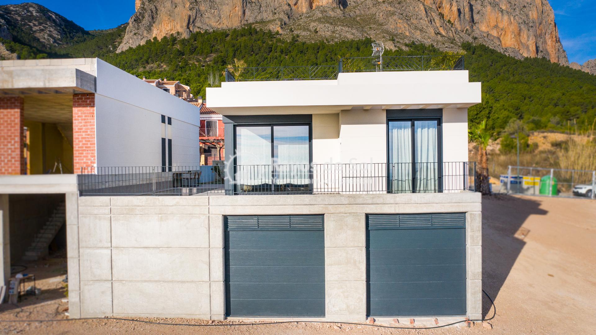 Newbuild villa  in Polop, Costa Blanca (POGRPHVI2-2) - 4