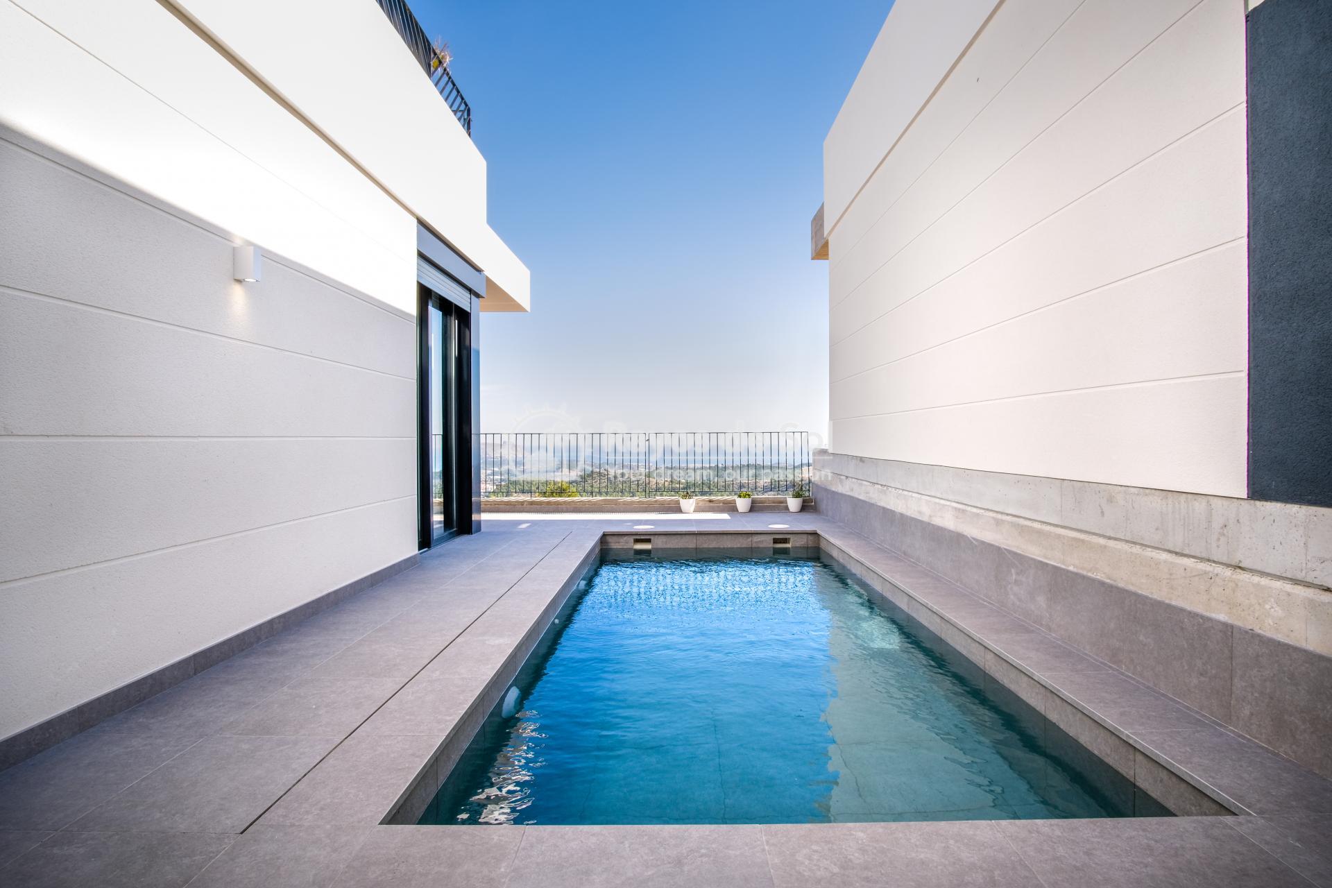 Newbuild villa  in Polop, Costa Blanca (POGRPHVI2-2) - 33