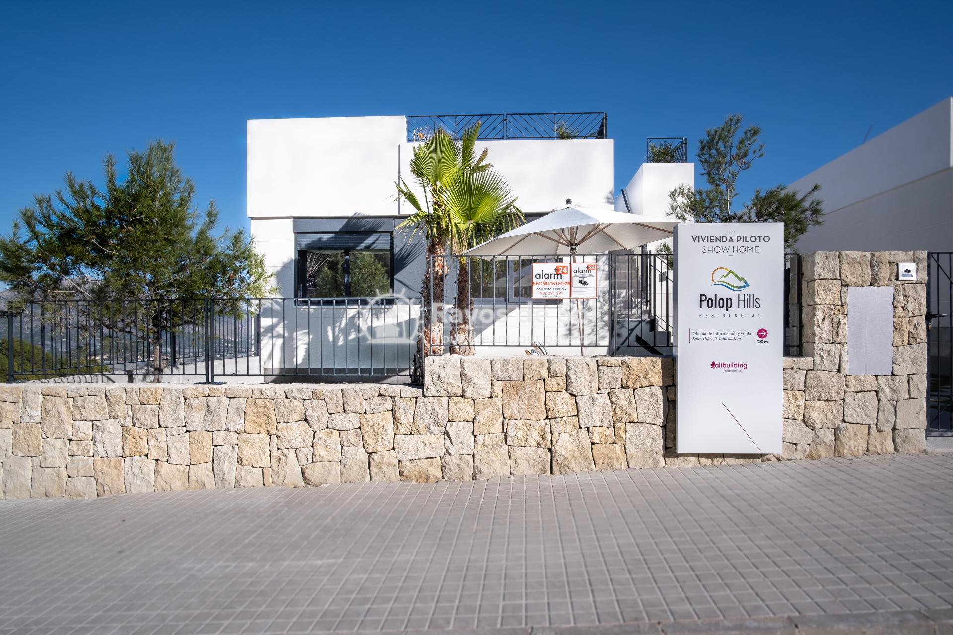Newbuild villa  in Polop, Costa Blanca (POGRPHMA3-2) - 1