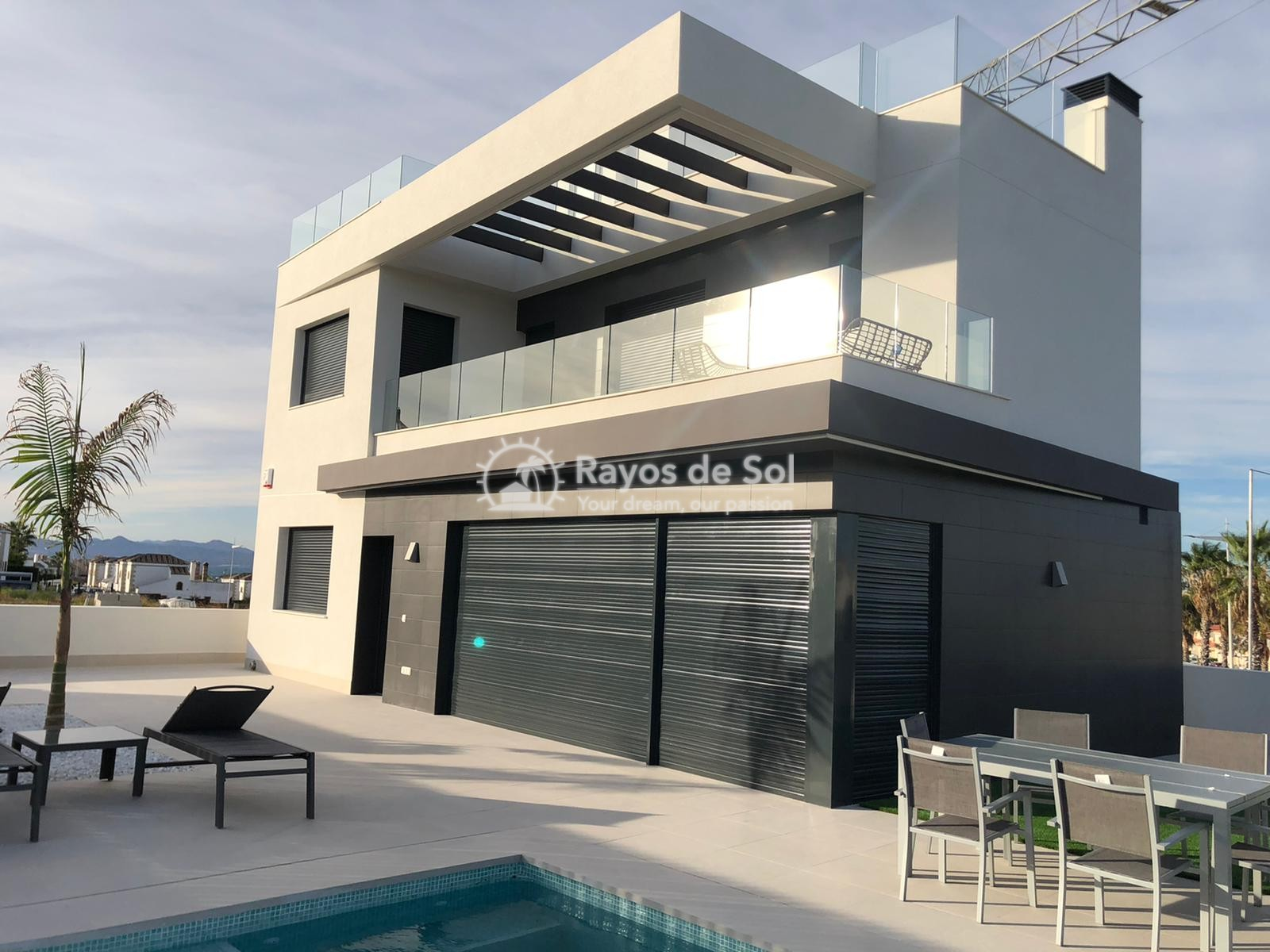 Newbuild villas in La Finca, Algorfa, Costa Blanca (LFHELFV3-2) - 73