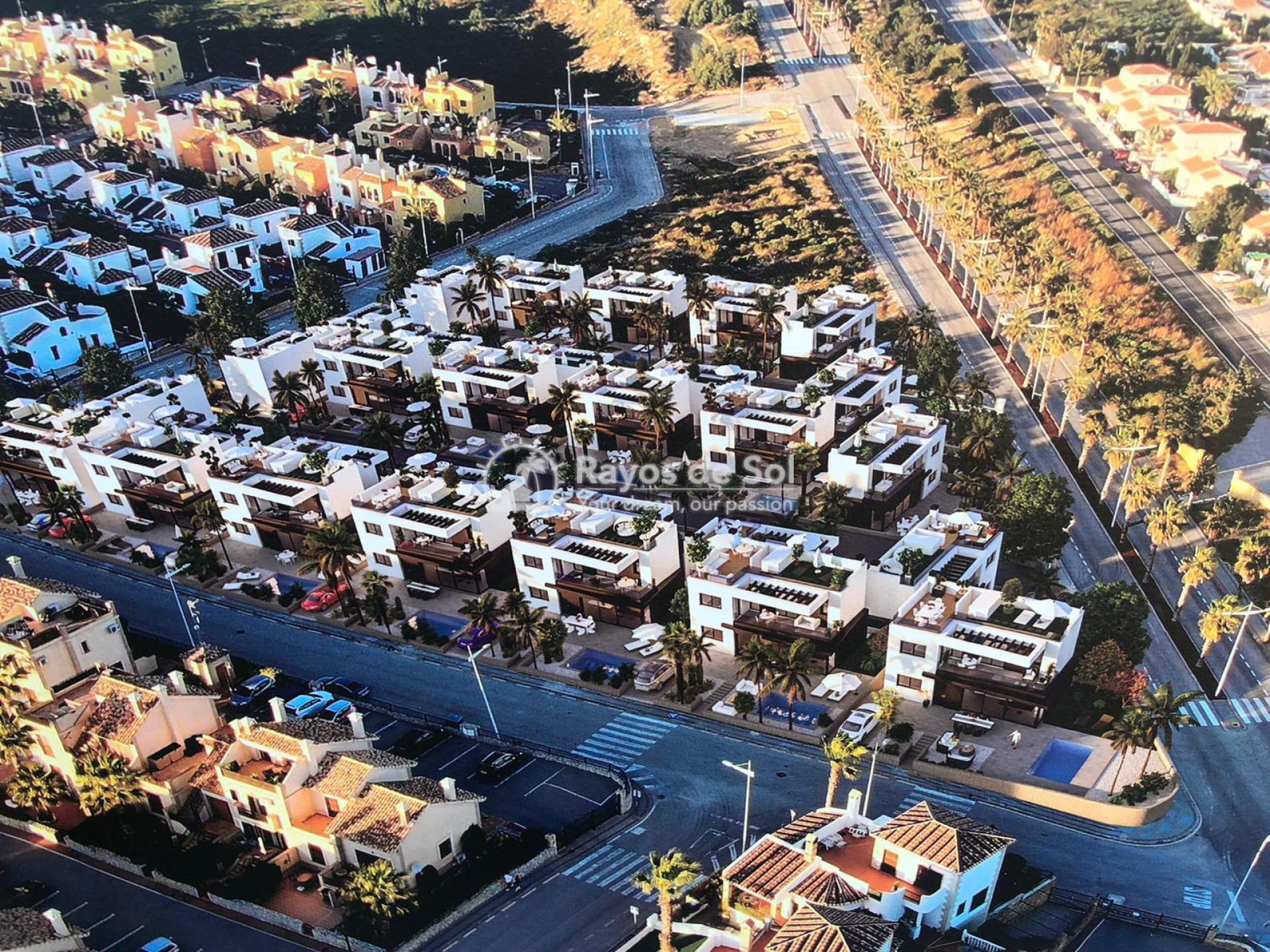 Newbuild villas in La Finca, Algorfa, Costa Blanca (LFHELFV3-2) - 85