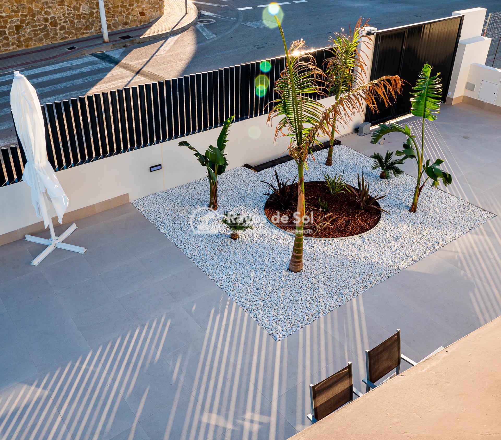 Newbuild villas in La Finca, Algorfa, Costa Blanca (LFHELFV3-2) - 75