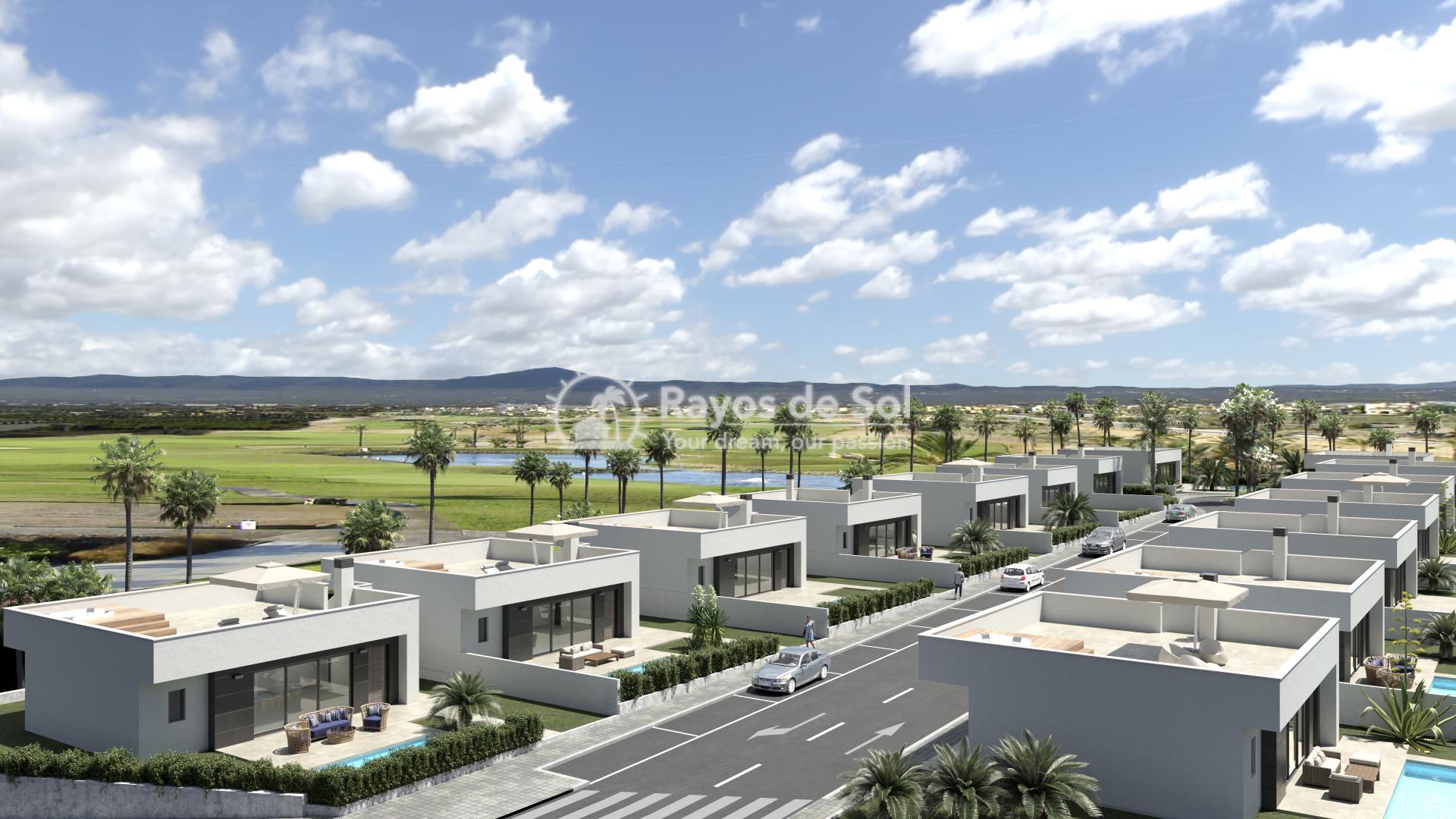 Newbuild villas  in Alhama De Murcia, Costa Cálida (ADMORMDC2-2V) - 1