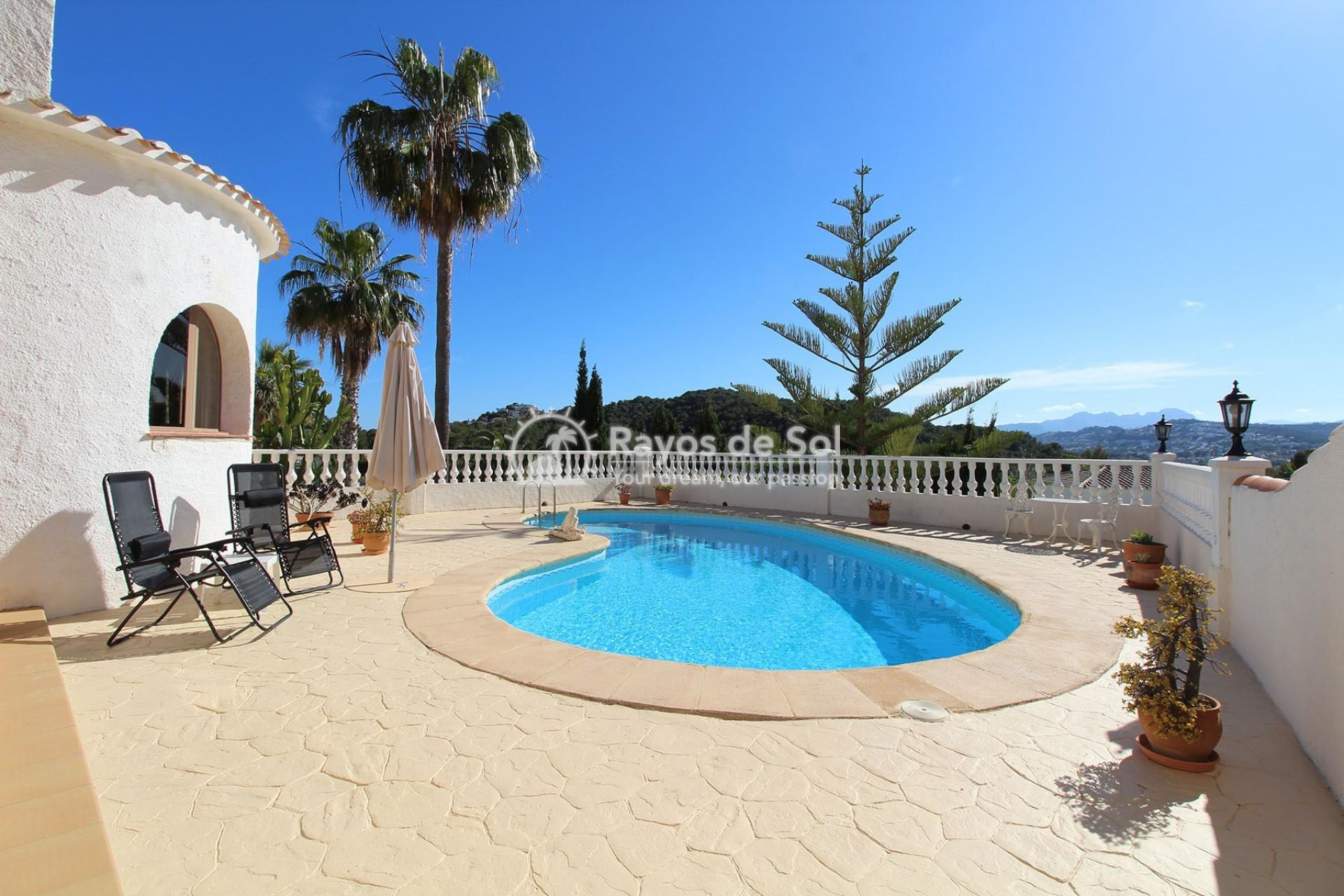 Villa  in Moraira, Costa Blanca (3401ex) - 1