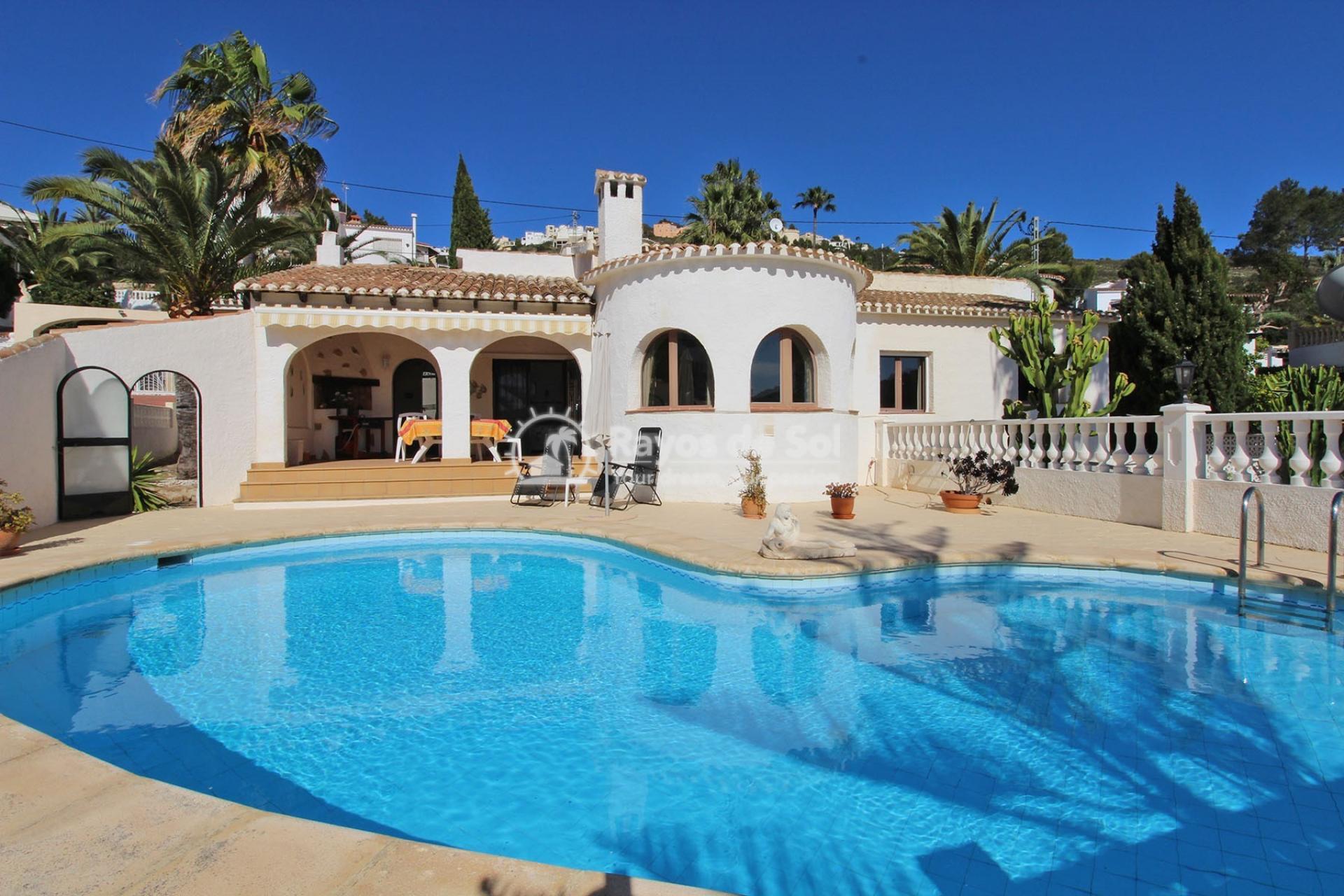 Villa  in Moraira, Costa Blanca (3401ex) - 3